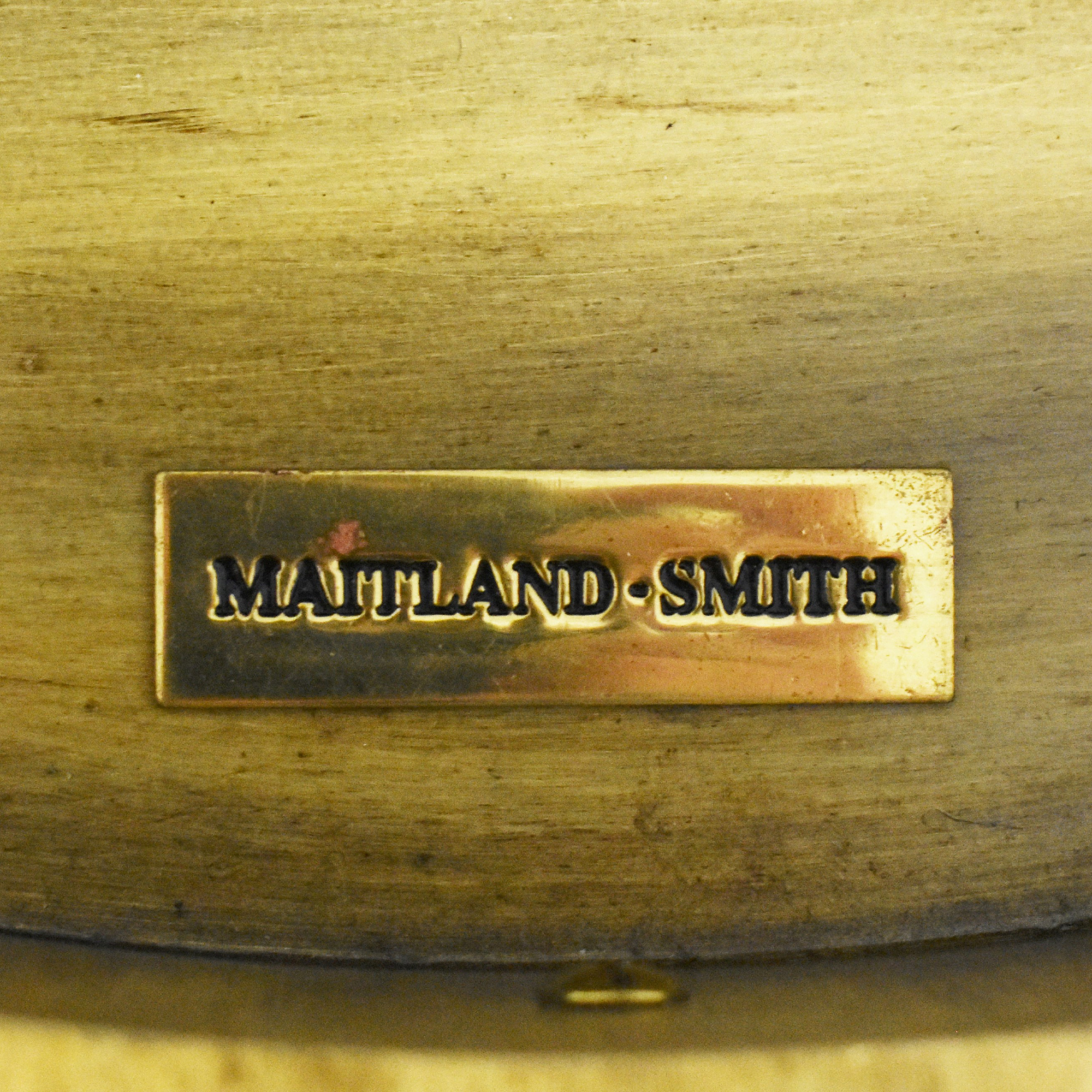 Maitland-Smith Maitland-Smith Three Drawer Round End Table discount