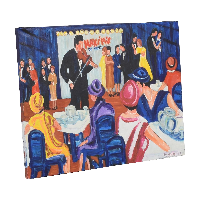buy Paolo Corvino Maxim's Painting Wall Art