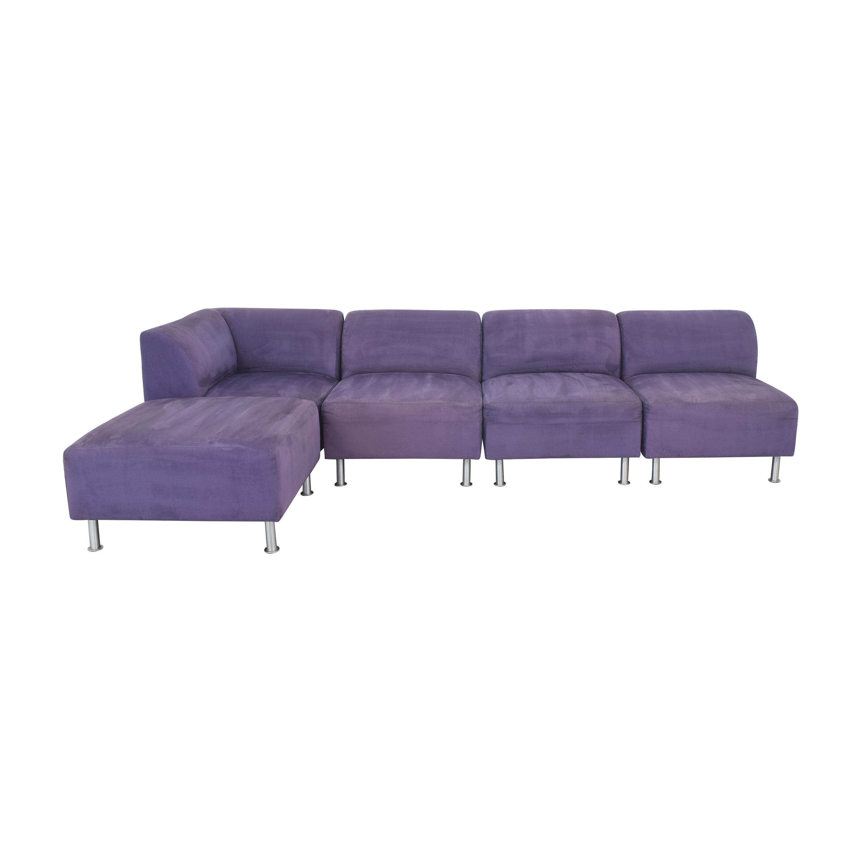 Jensen-Lewis Jensen-Lewis Modular Sectional Sofa with Ottoman dimensions