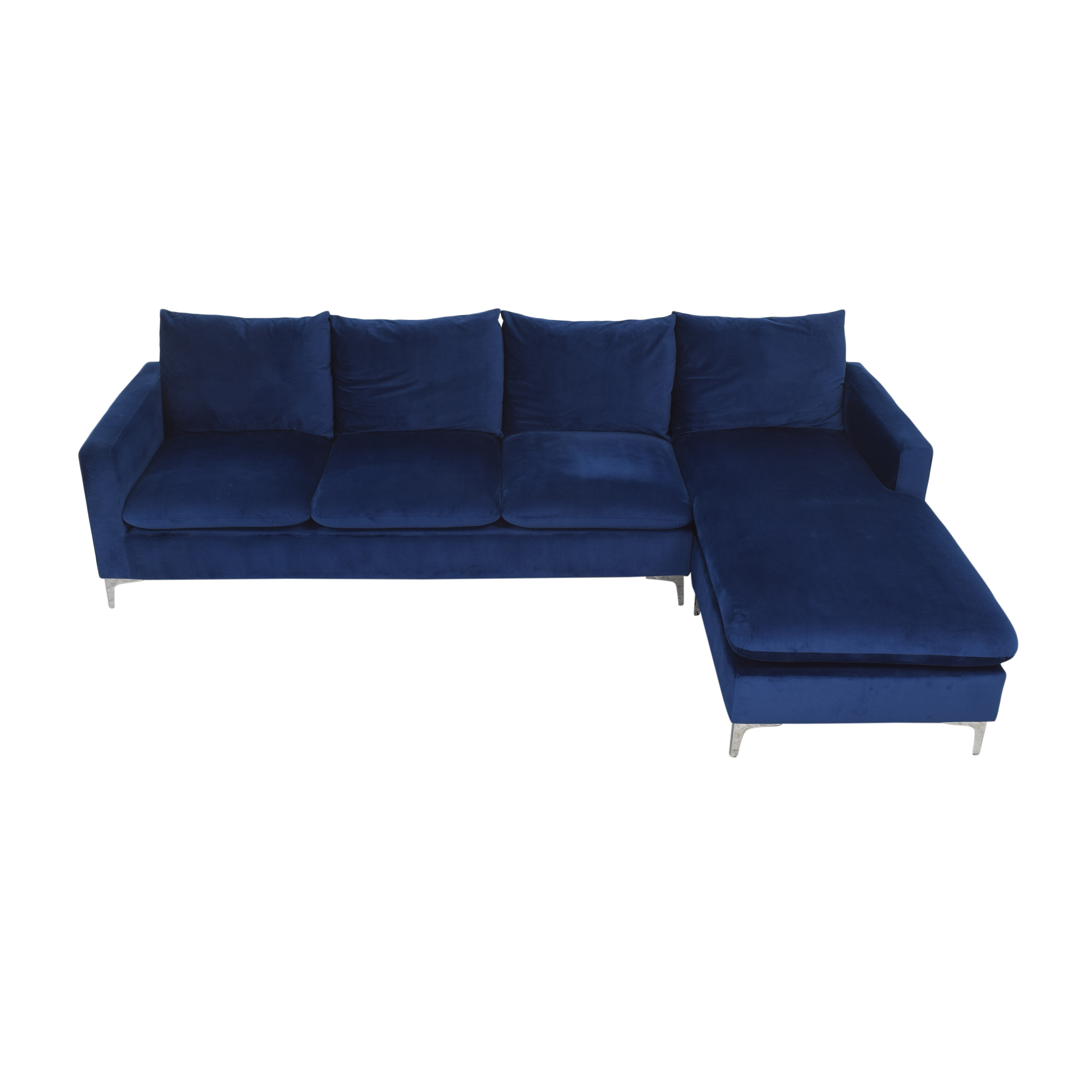 AllModern AllModern Boutwell Reversible Sectional Sofa with Chaise Sofas
