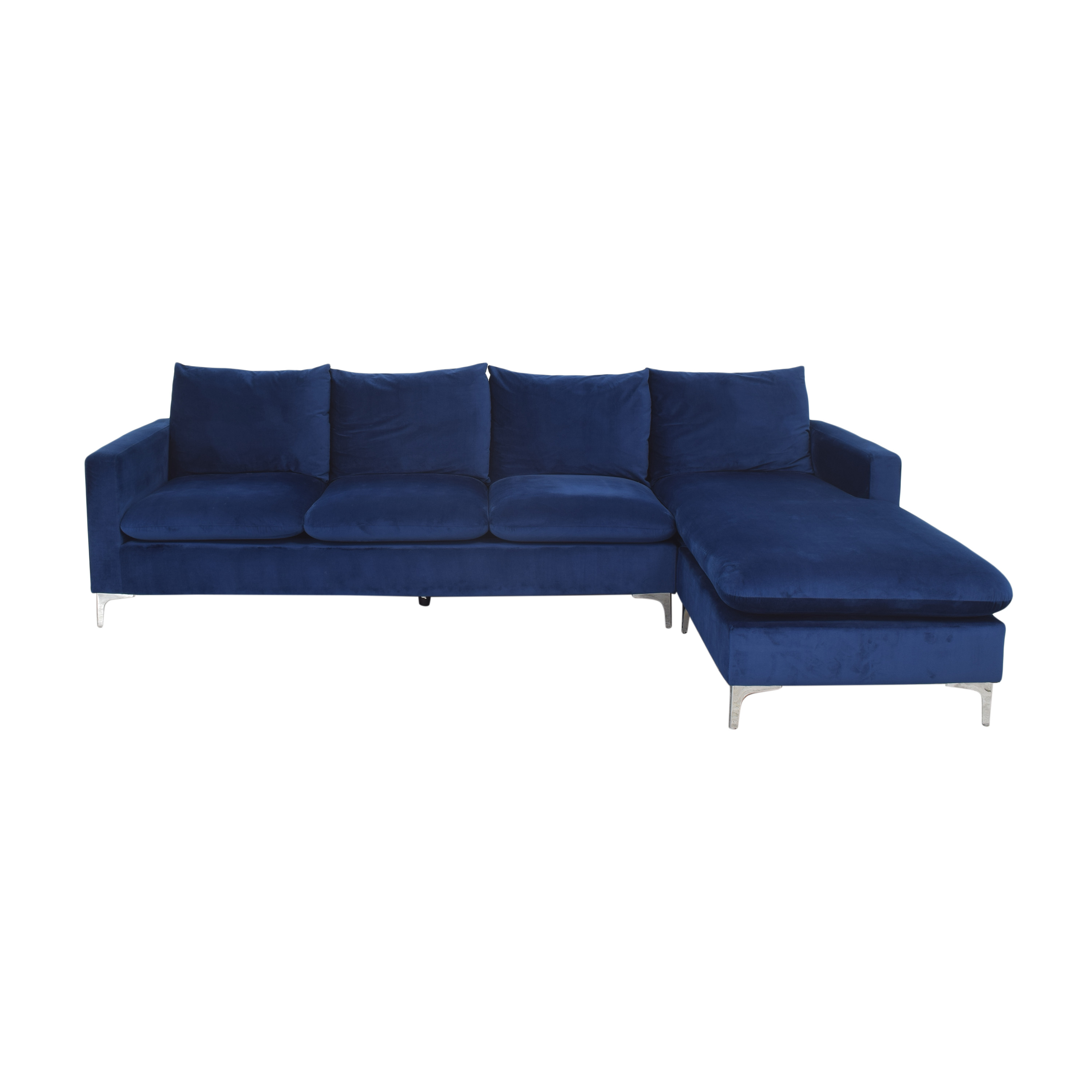 shop AllModern Boutwell Reversible Sectional Sofa with Chaise AllModern Sectionals