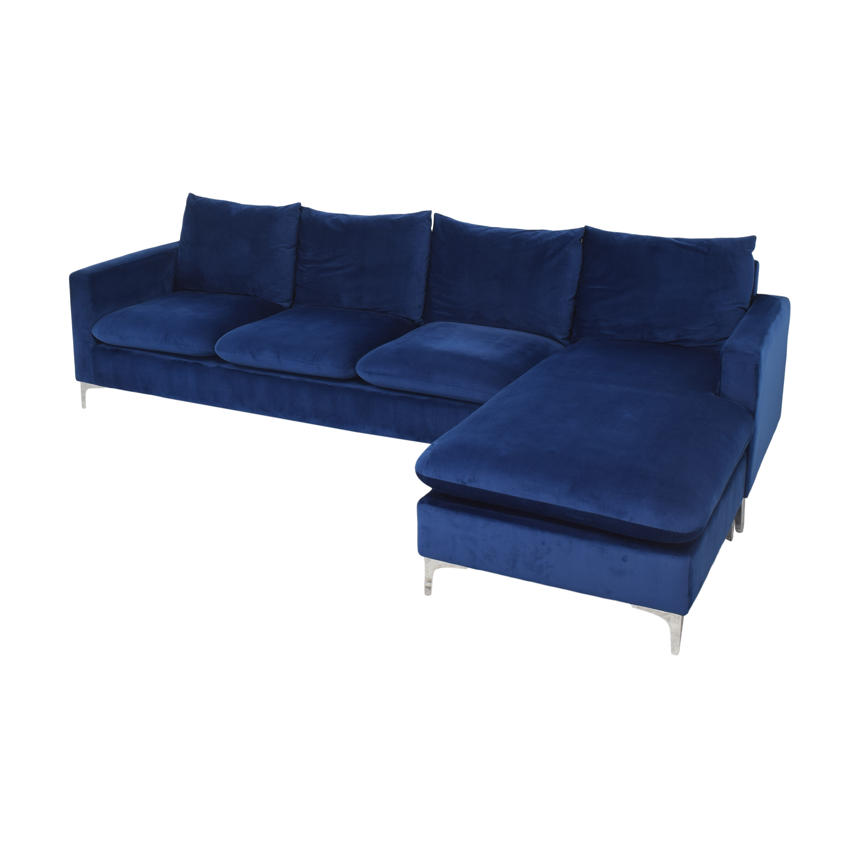 AllModern Boutwell Reversible Sectional Sofa with Chaise / Sectionals