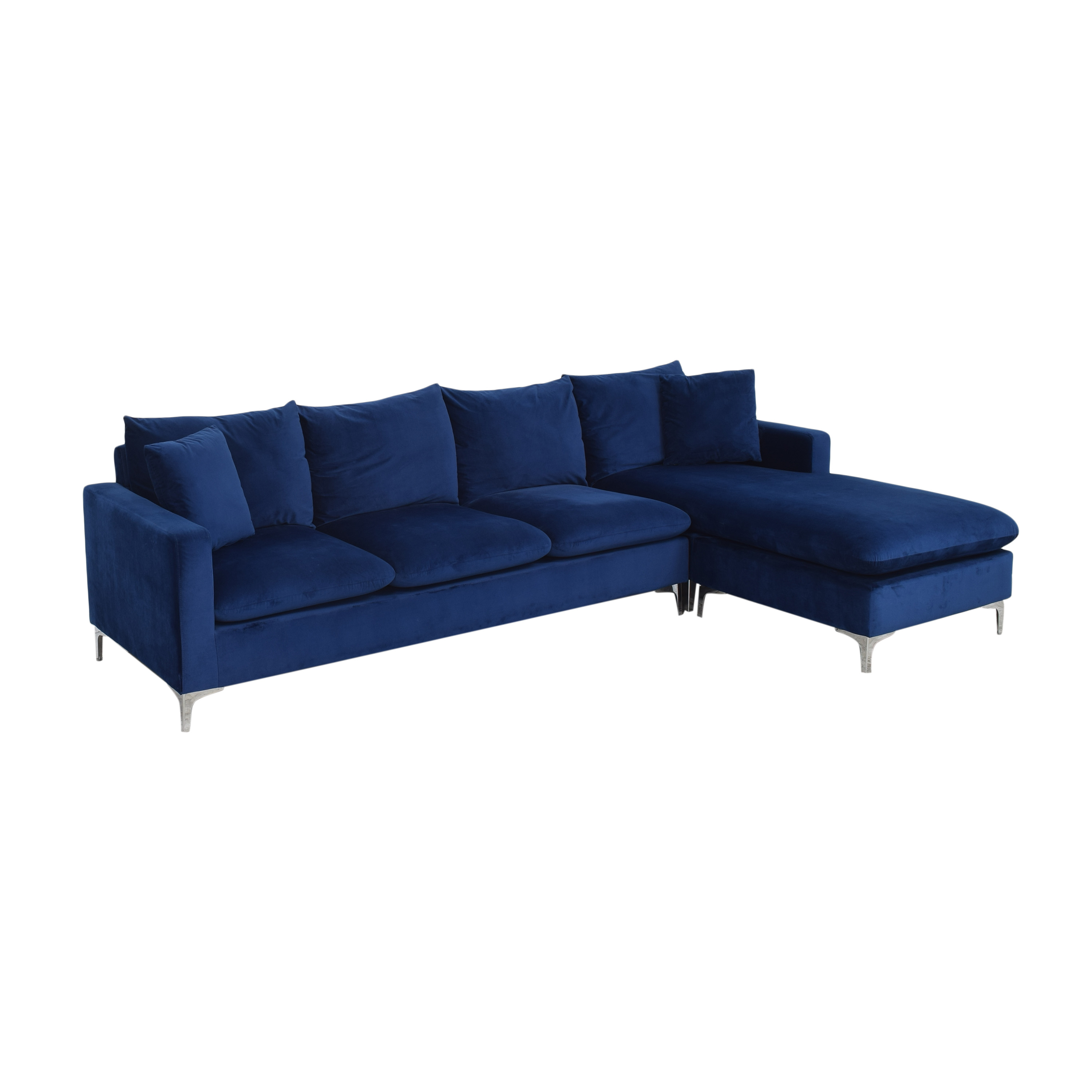 AllModern Boutwell Reversible Sectional Sofa with Chaise sale