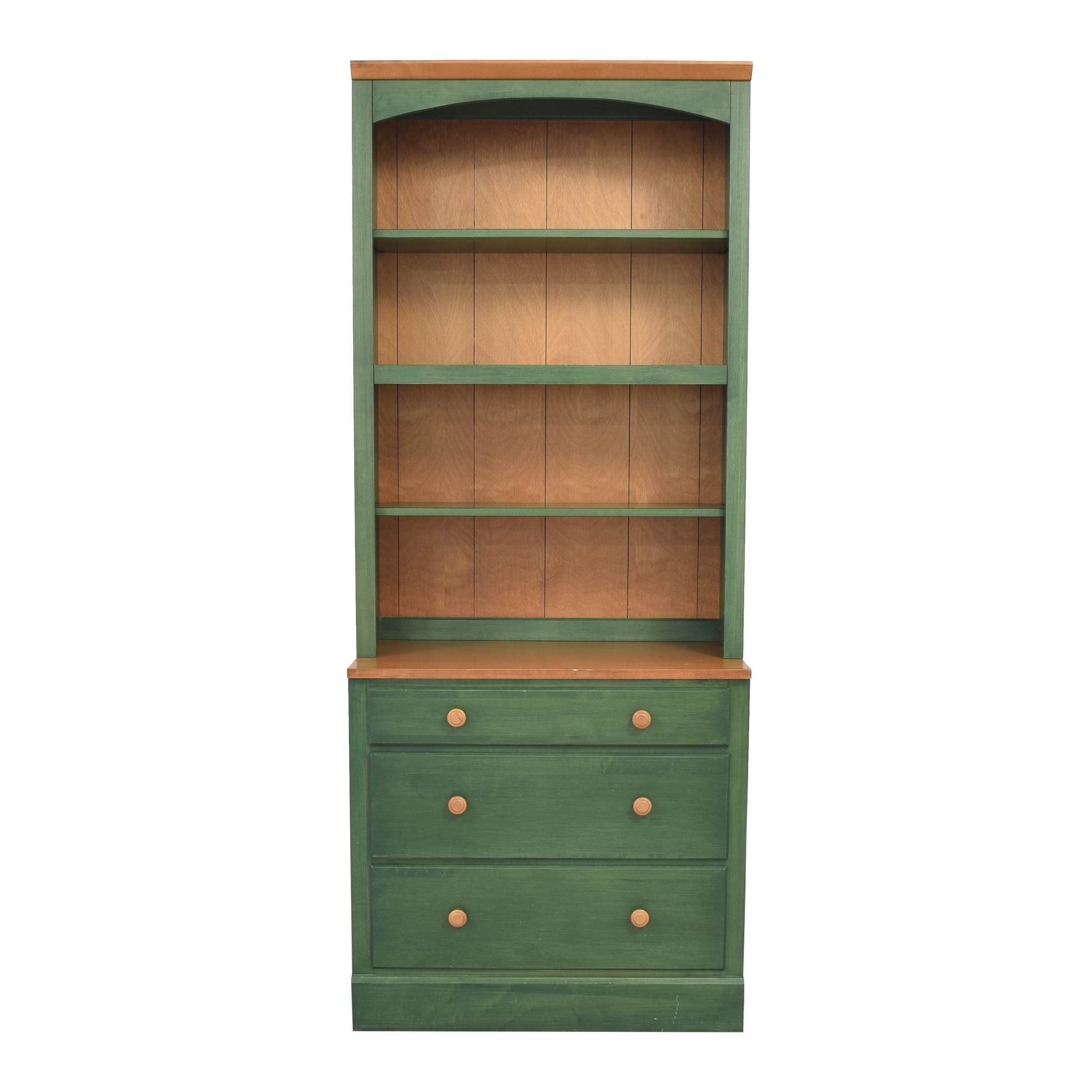 Ethan Allen Country Colors Three Drawer Bookcase sale