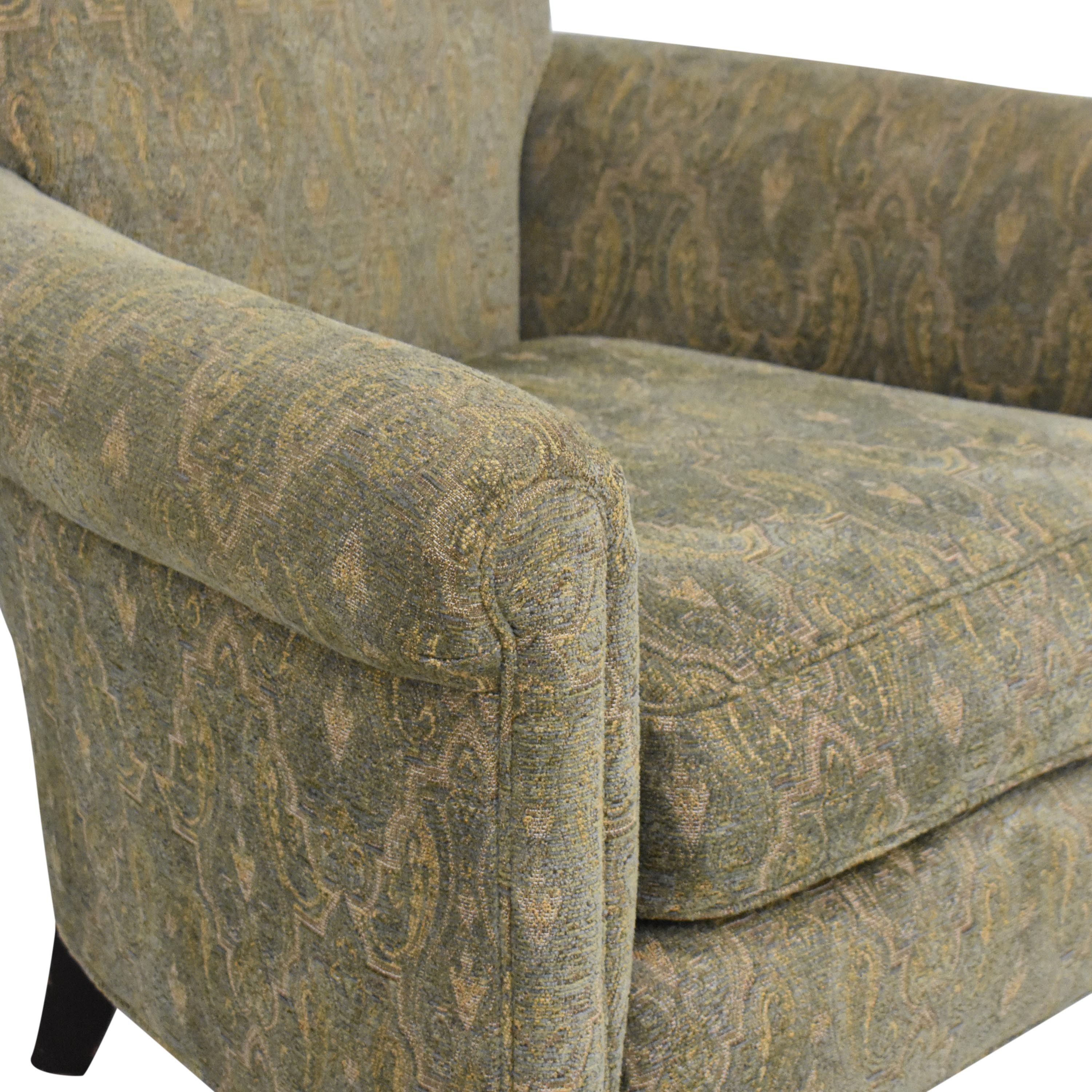 shop Cisco Brothers Accent Chair with Ottoman Cisco Brothers Chairs