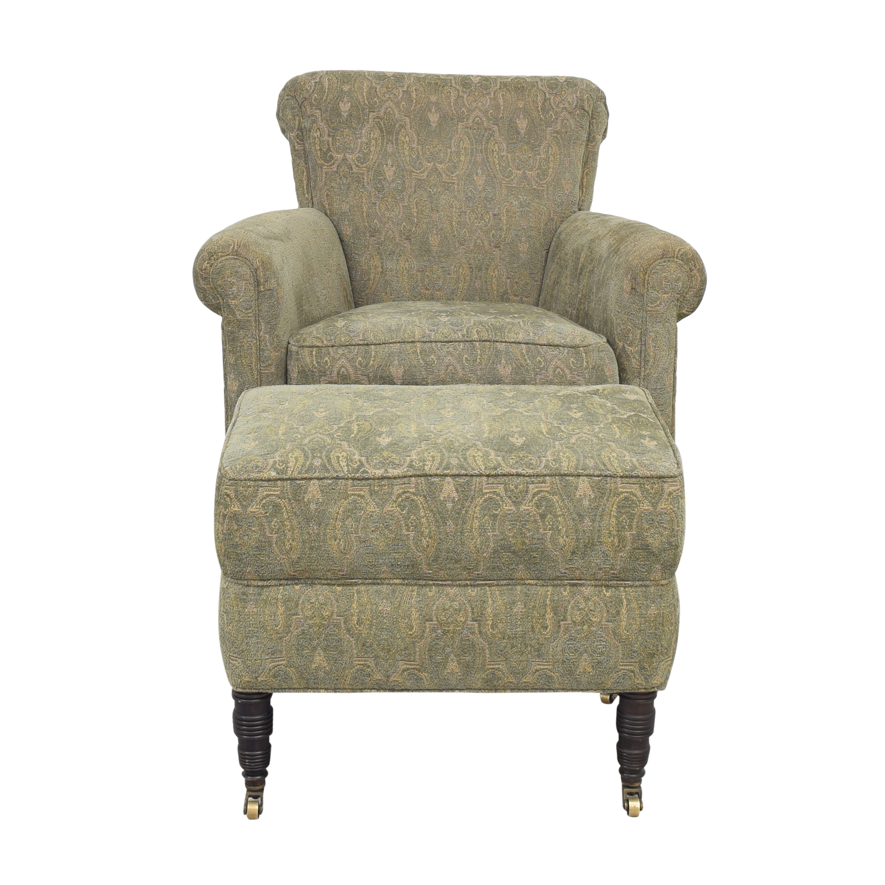 Cisco Brothers Cisco Brothers Accent Chair with Ottoman price