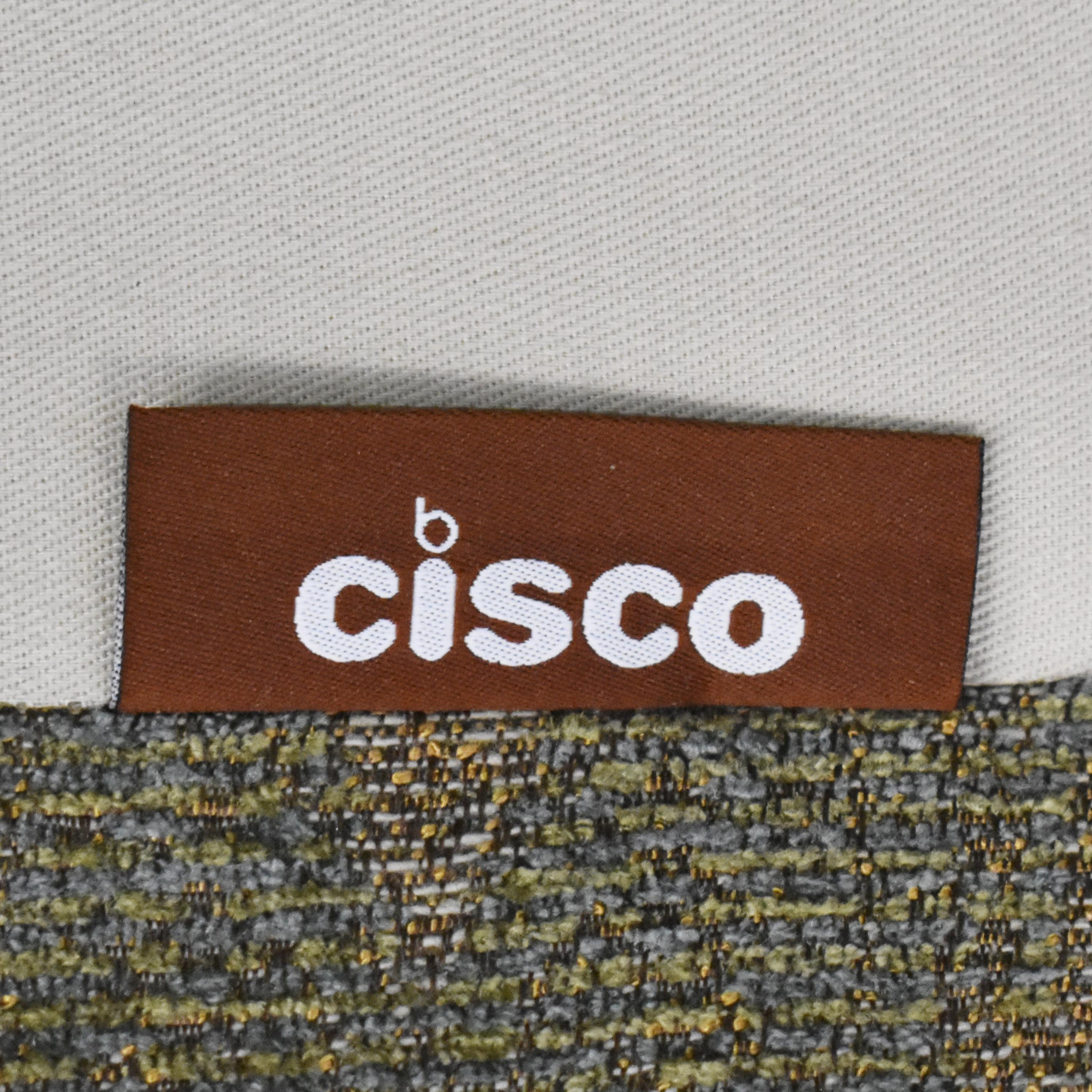 Cisco Brothers Cisco Brothers Accent Chair with Ottoman nyc