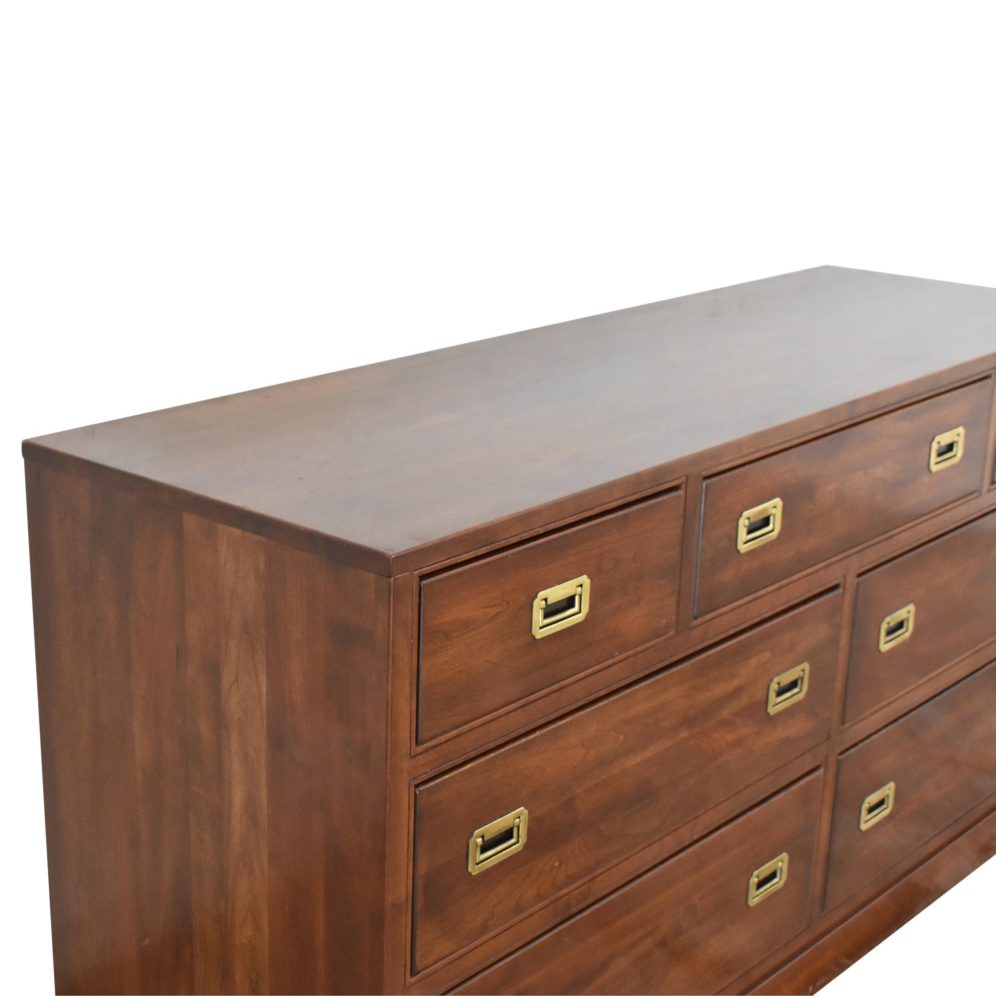Ethan Allen Campaign-Style Dresser / Storage