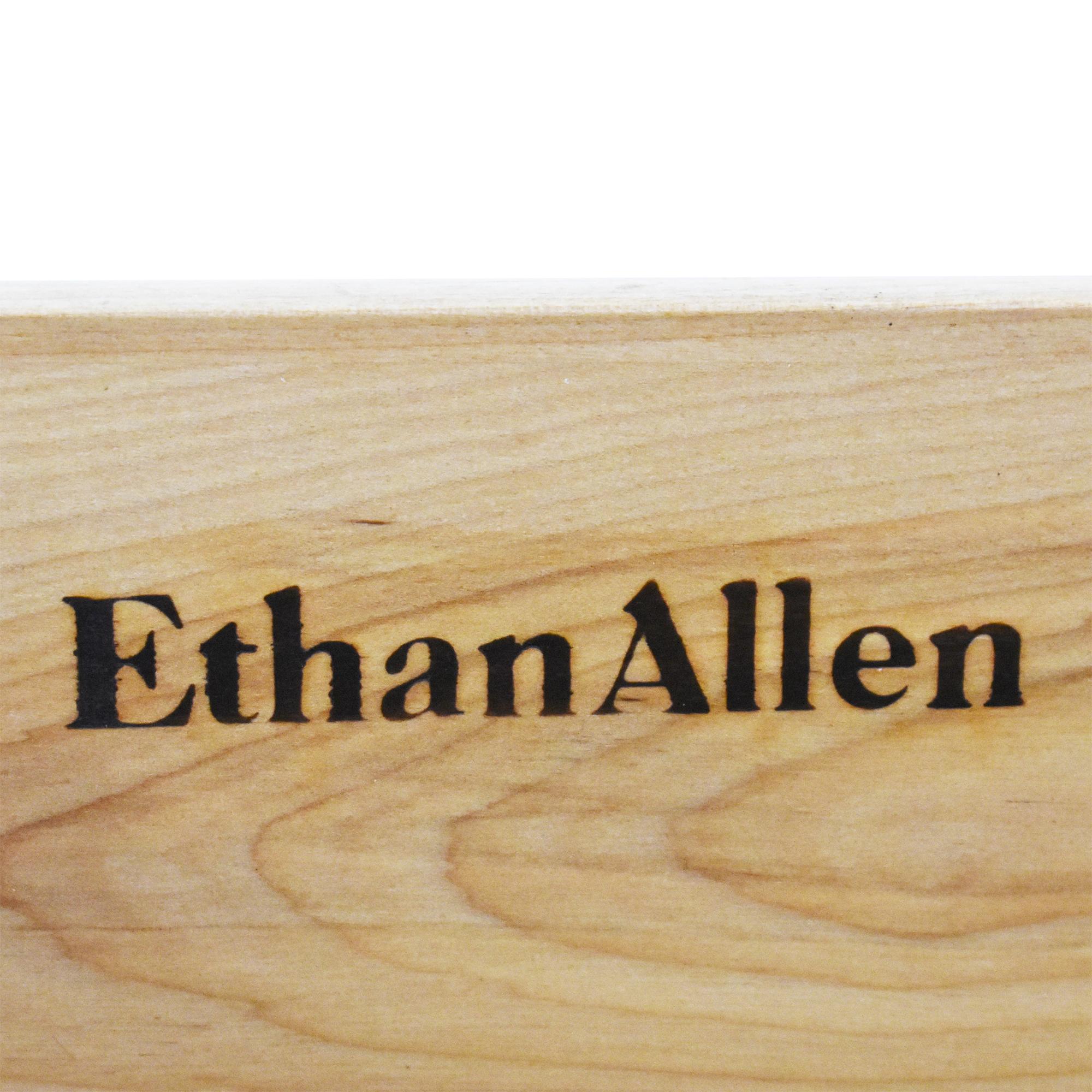 Ethan Allen Ethan Allen Campaign-Style Dresser Storage