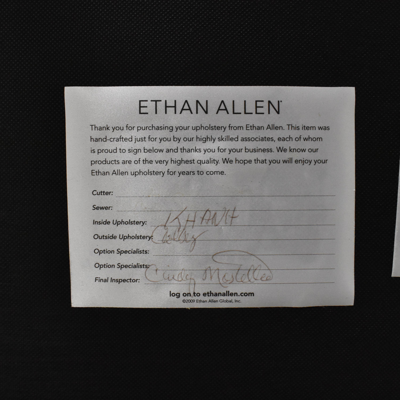 Ethan Allen Ethan Allen Thomas Plaid Armchair second hand