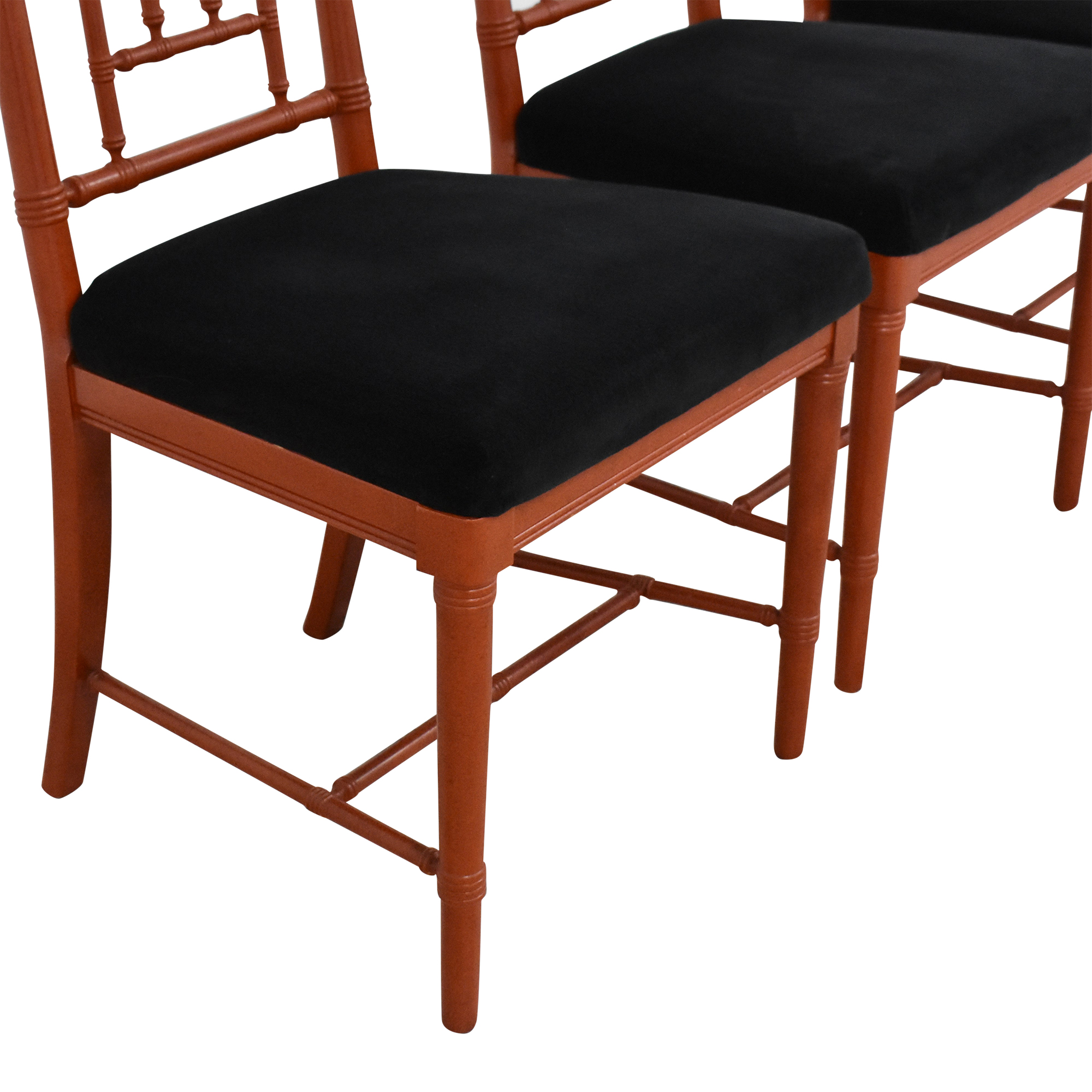 66 Off Custom Upholstered Dining Chairs Chairs