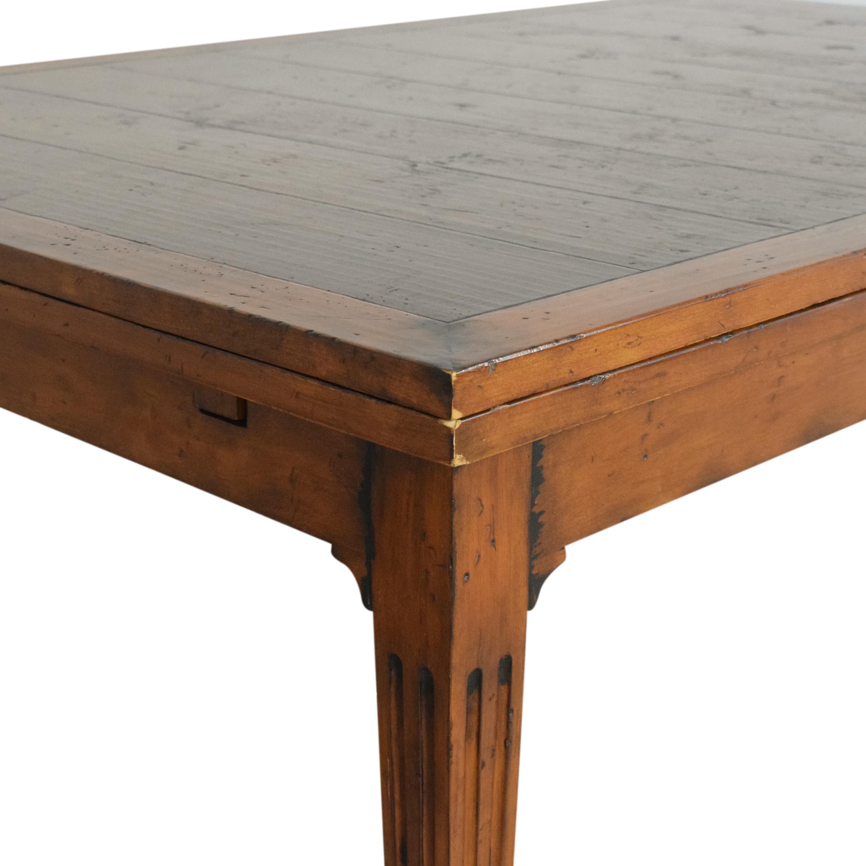 Henredon Furniture Henredon Acquisitions Extendable Dining Table nj