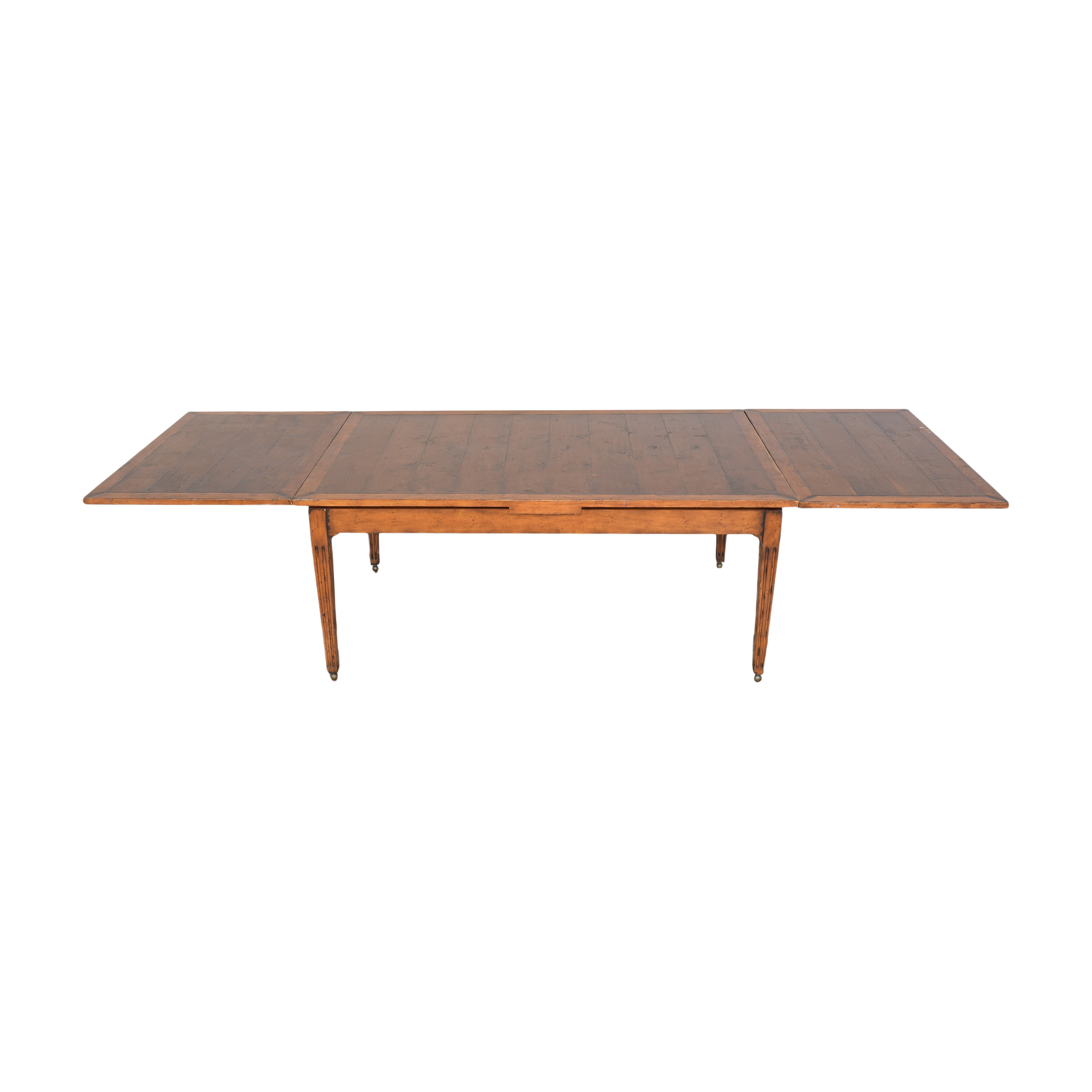 Henredon Furniture Henredon Acquisitions Extendable Dining Table dimensions