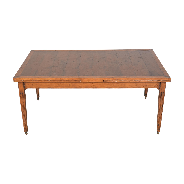 shop Henredon Furniture Henredon Acquisitions Extendable Dining Table online