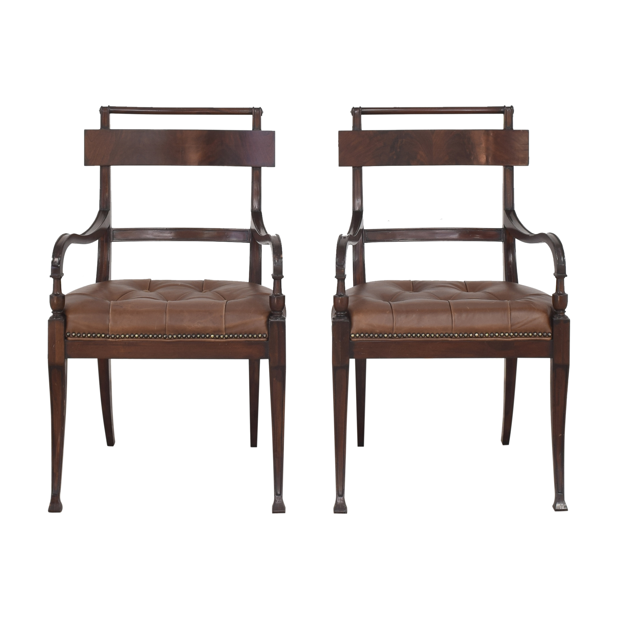 Henredon Furniture Henredon Furniture Acquisitions Dining Arm Chairs Dining Chairs