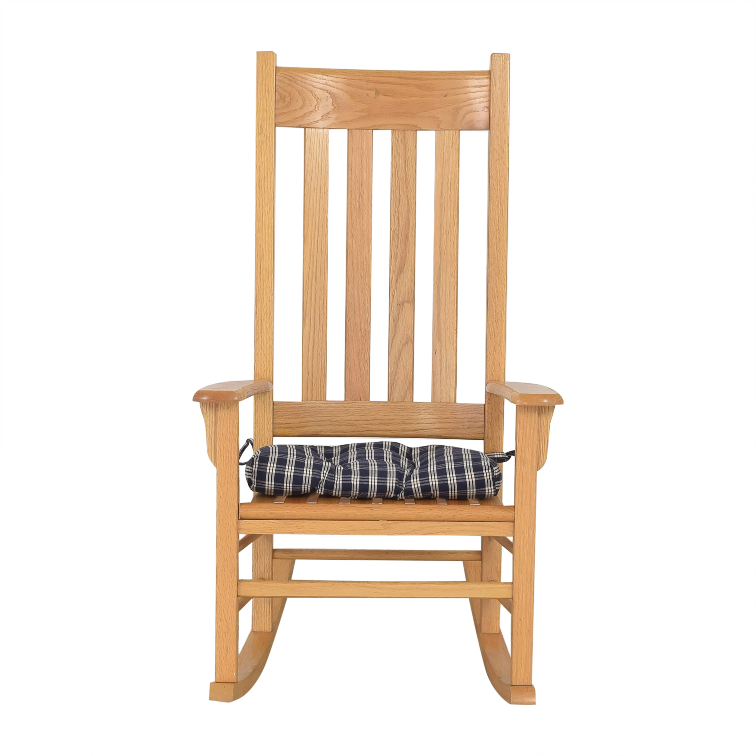 Workbench Workbench Rocking Chair with Cushion nj