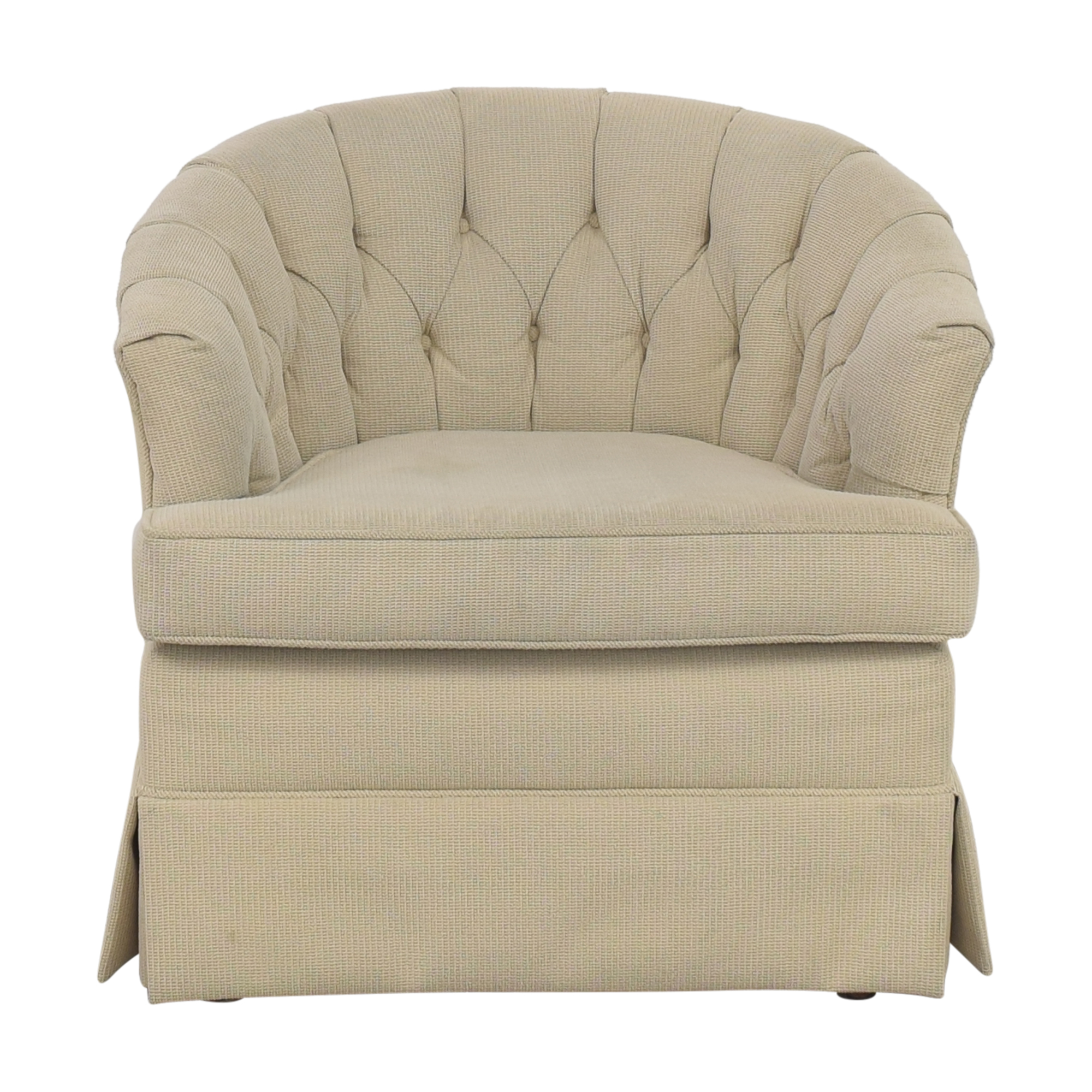 Flexsteel Flexsteel Tufted Barrel Chair nyc