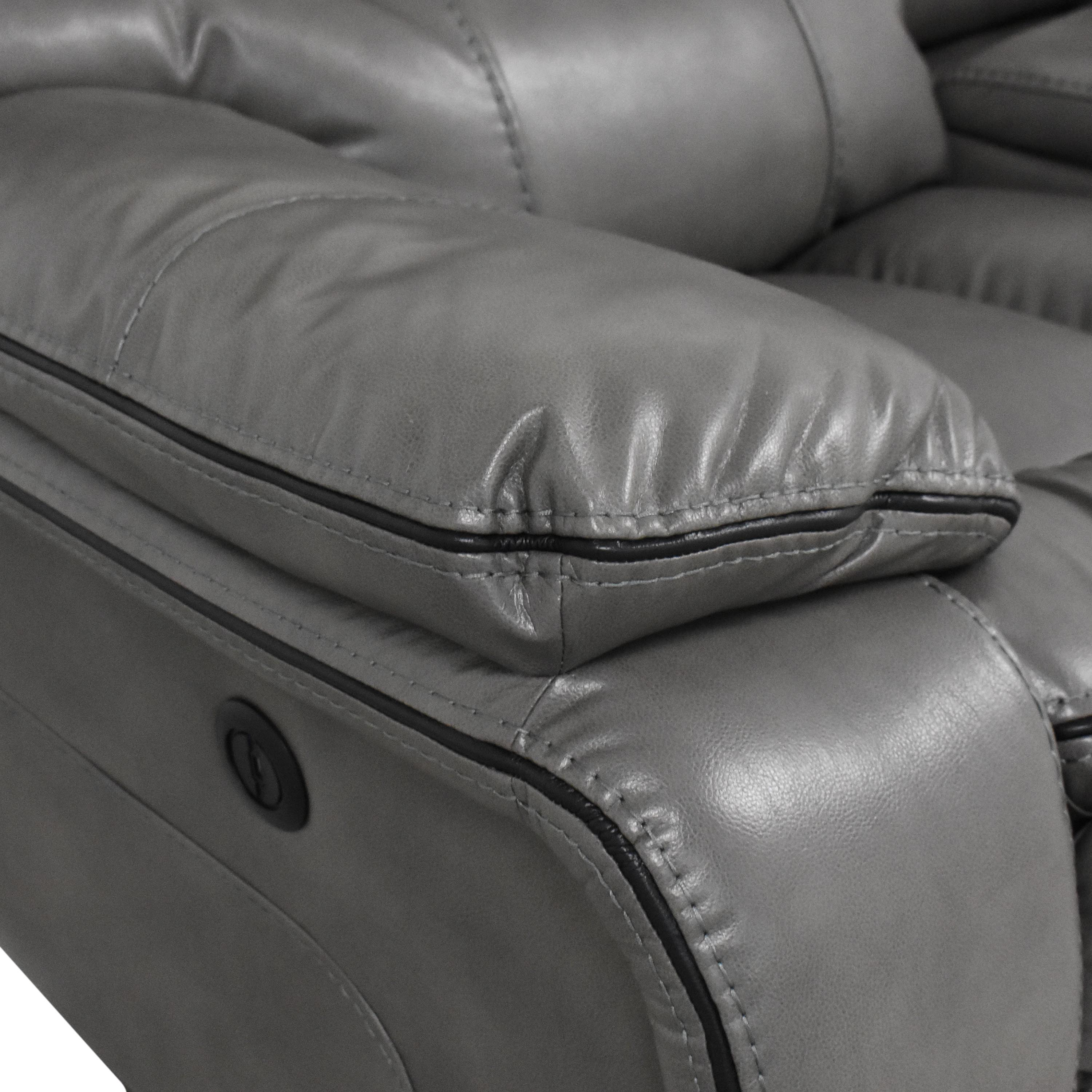 Bob's Avenger Power Reclining Console Loveseat / Sofas