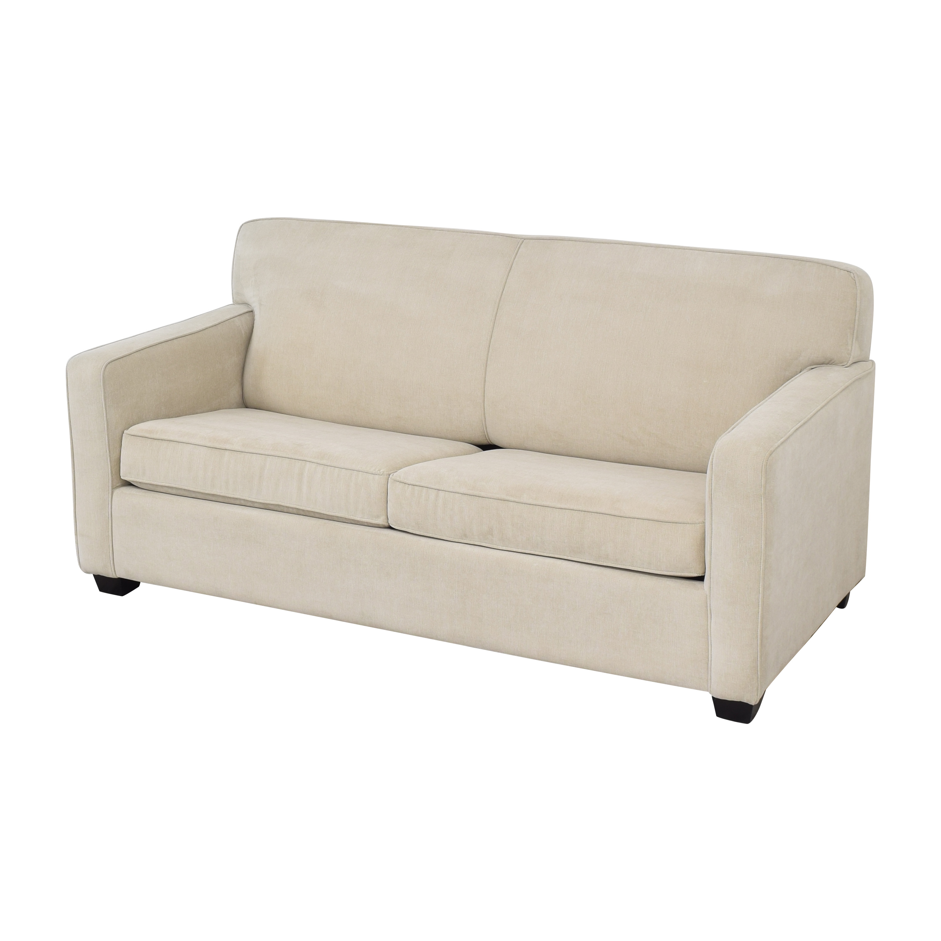 Two Cushion Sleeper Sofa with Pillows / Sofa Beds