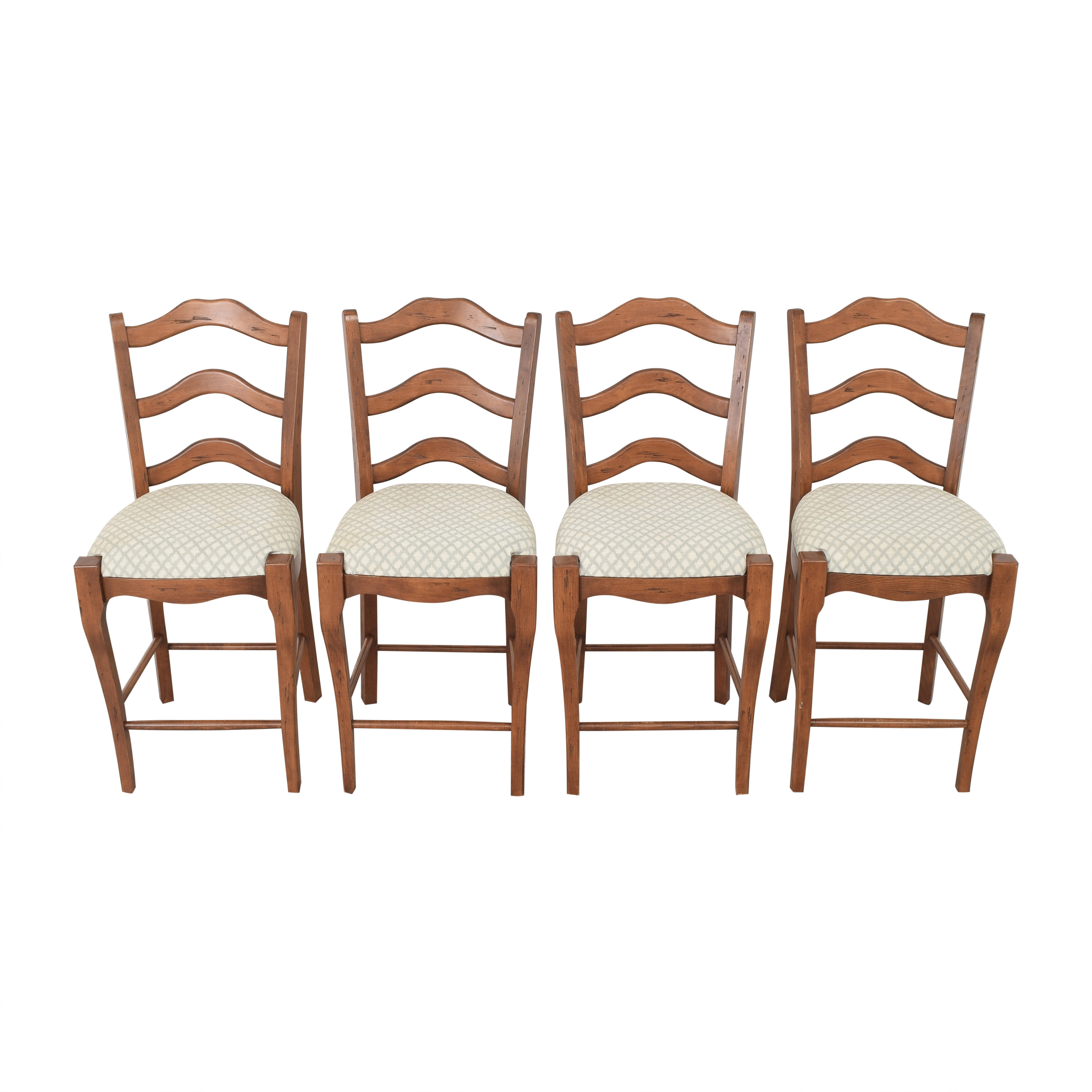Ladder Back Bar Stools / Chairs