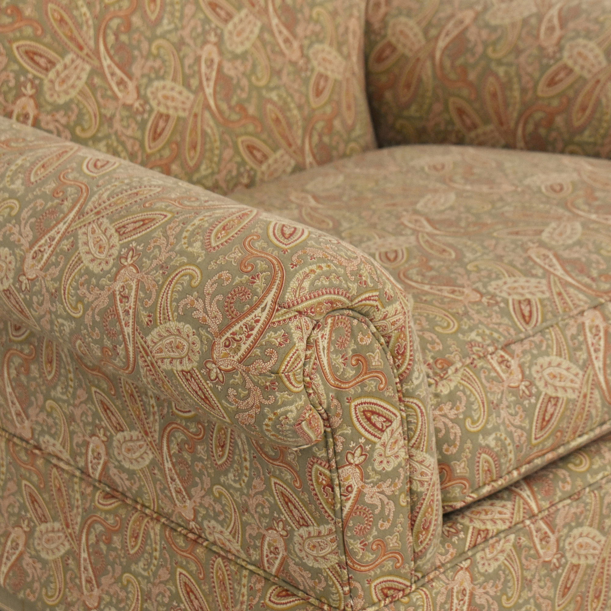Clayton Marcus Clayton Marcus Skirted Accent Chair discount