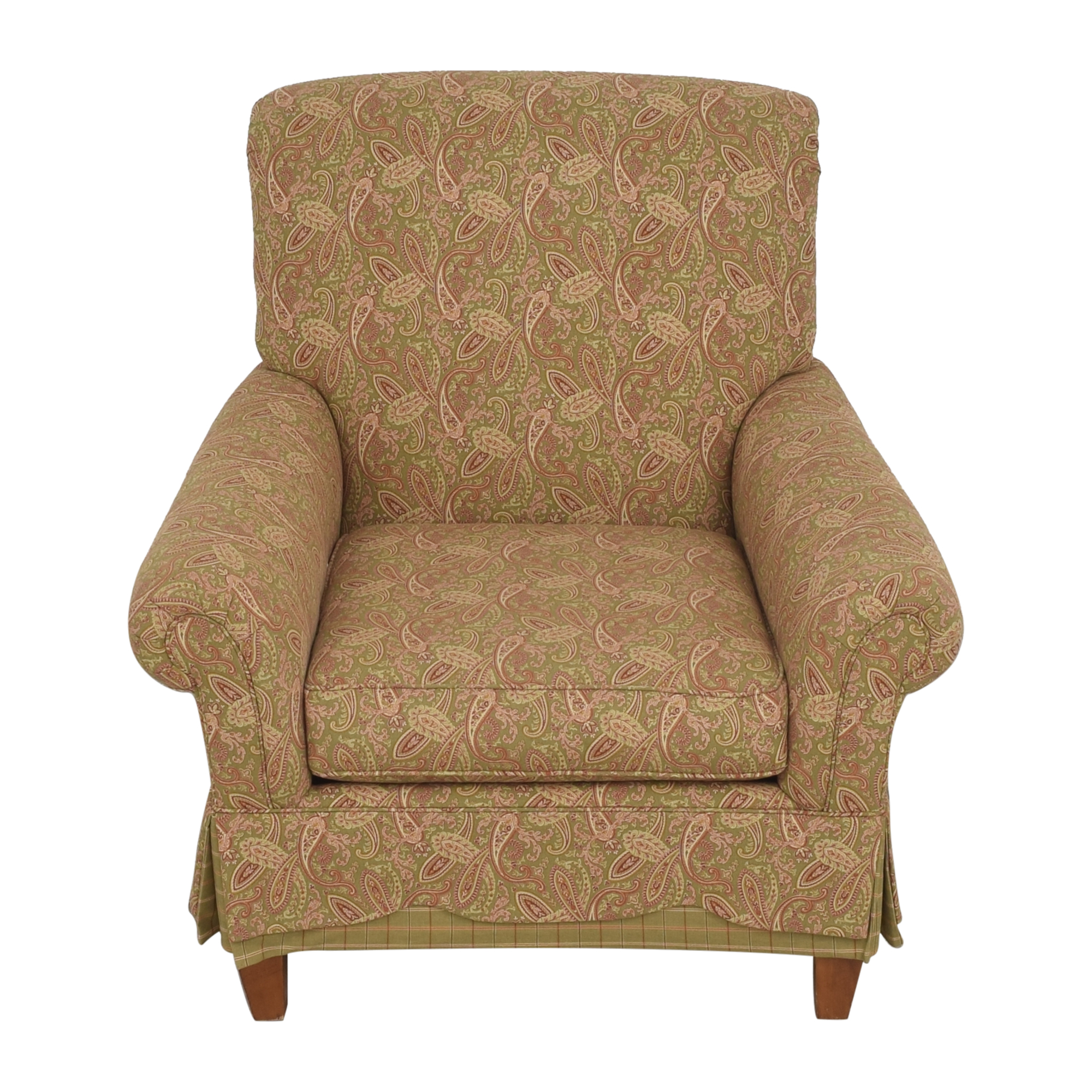 Clayton Marcus Clayton Marcus Skirted Accent Chair price