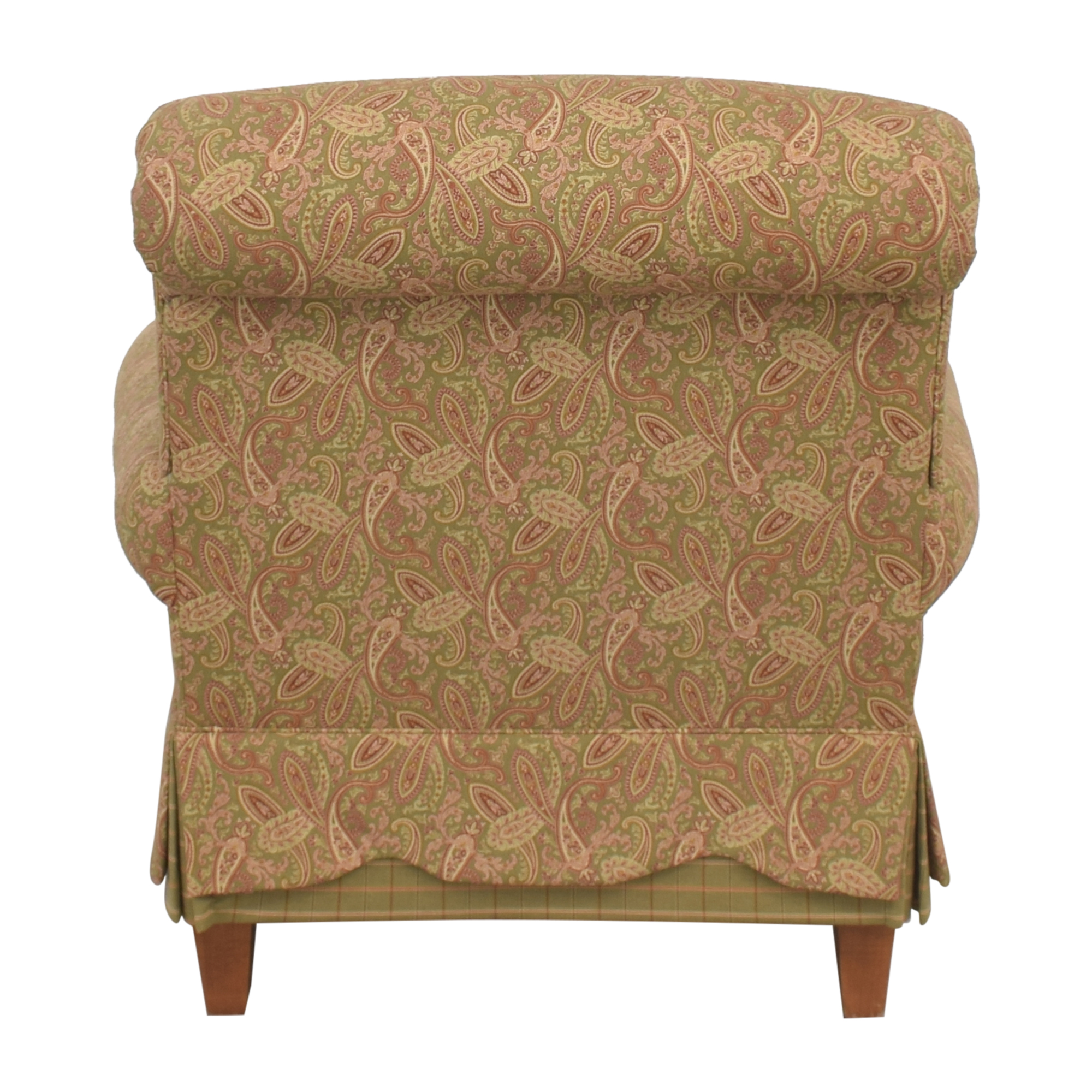 Clayton Marcus Clayton Marcus Skirted Accent Chair for sale