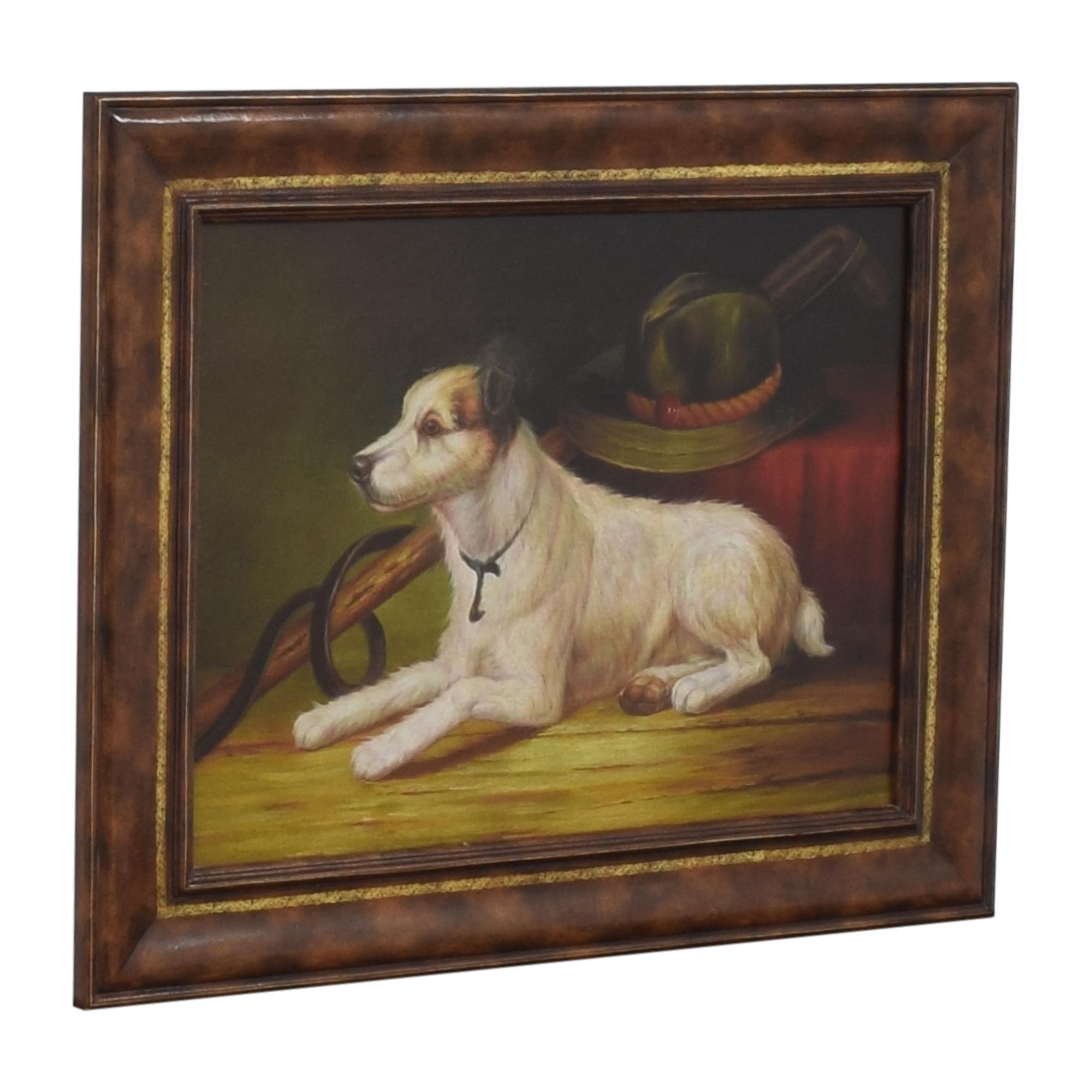 Maitland-Smith Maitland-Smith Dog Portrait Wall Art Decor