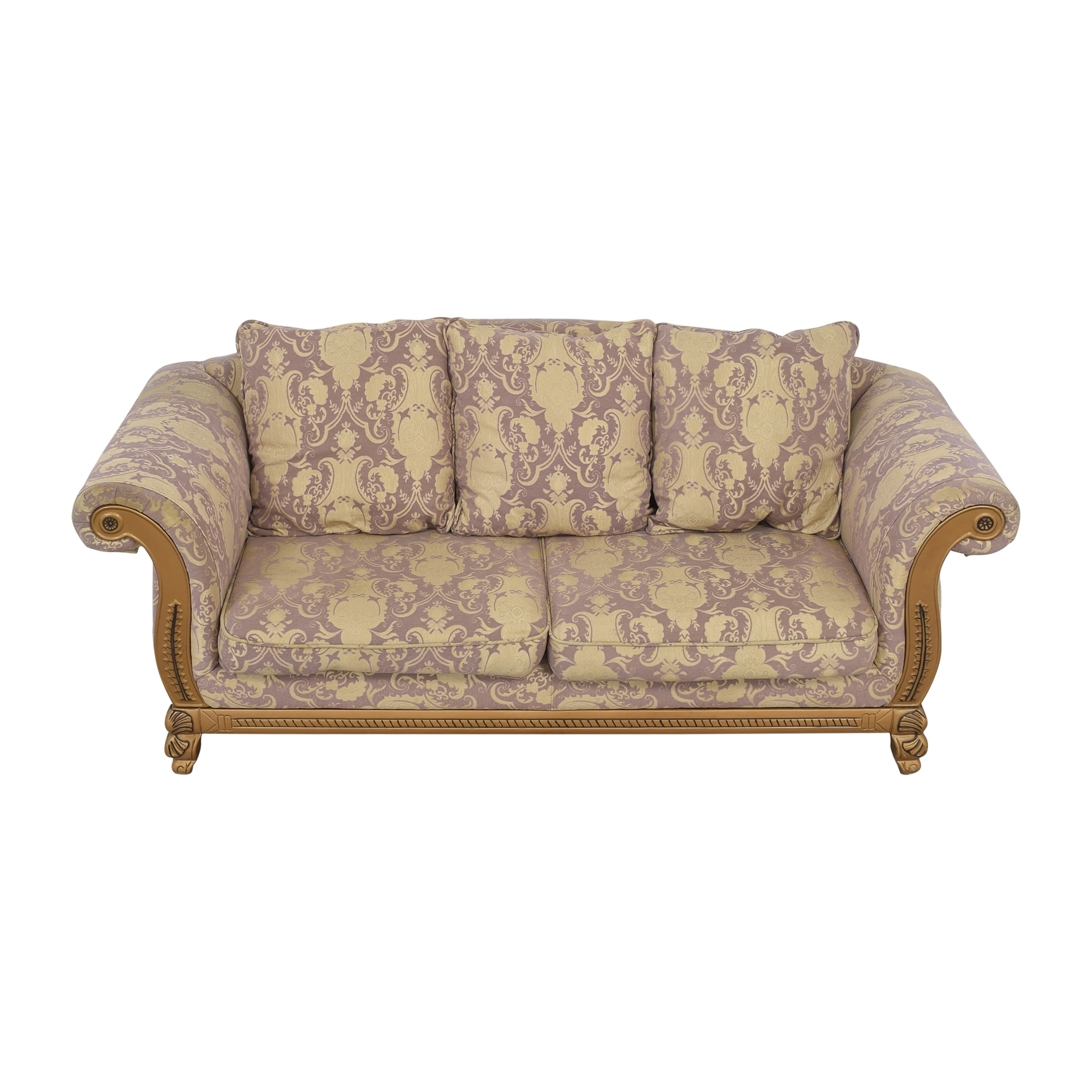 buy Patterned Roll Arm Sofa  Classic Sofas