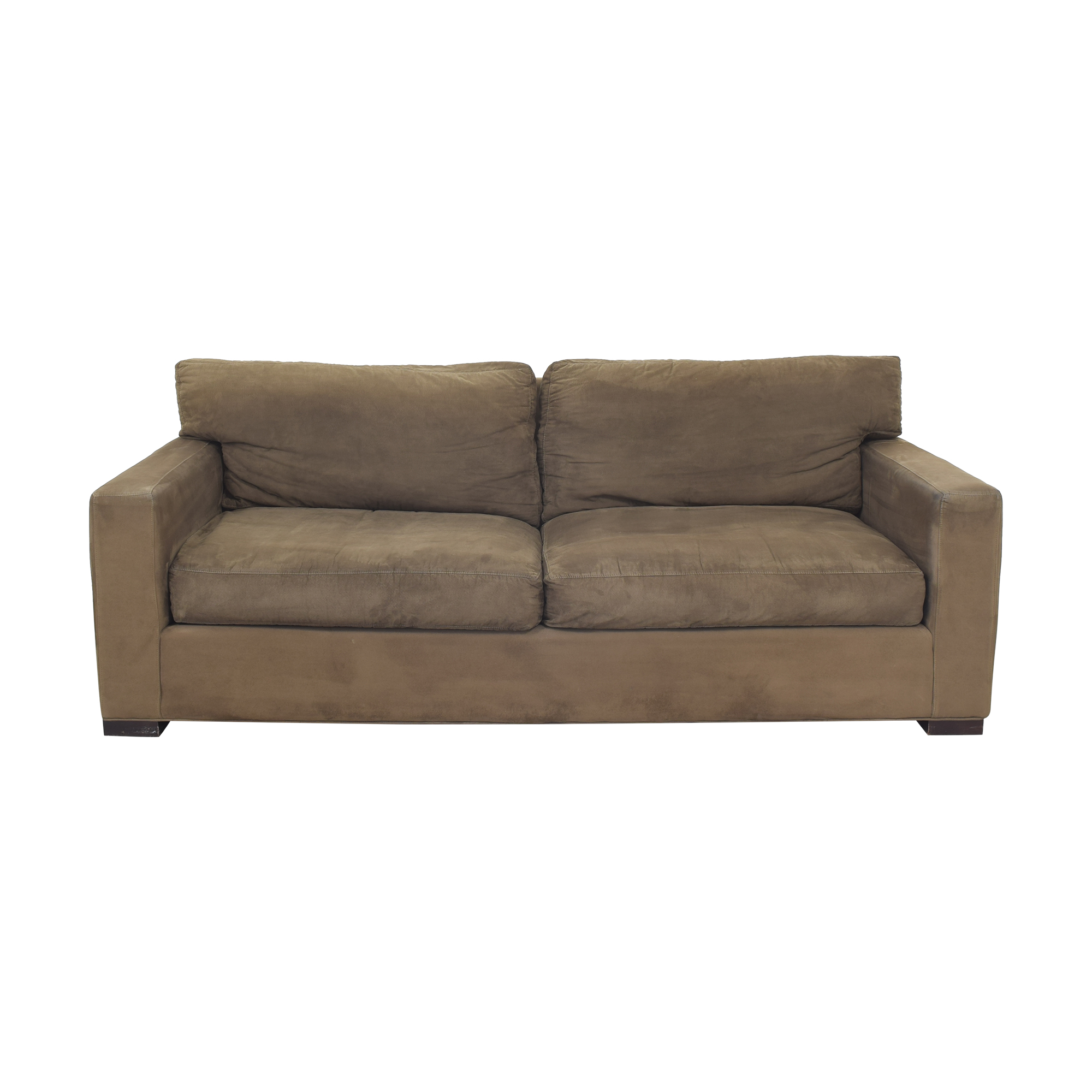 Crate & Barrel Axis II Two Cushion Sofa sale