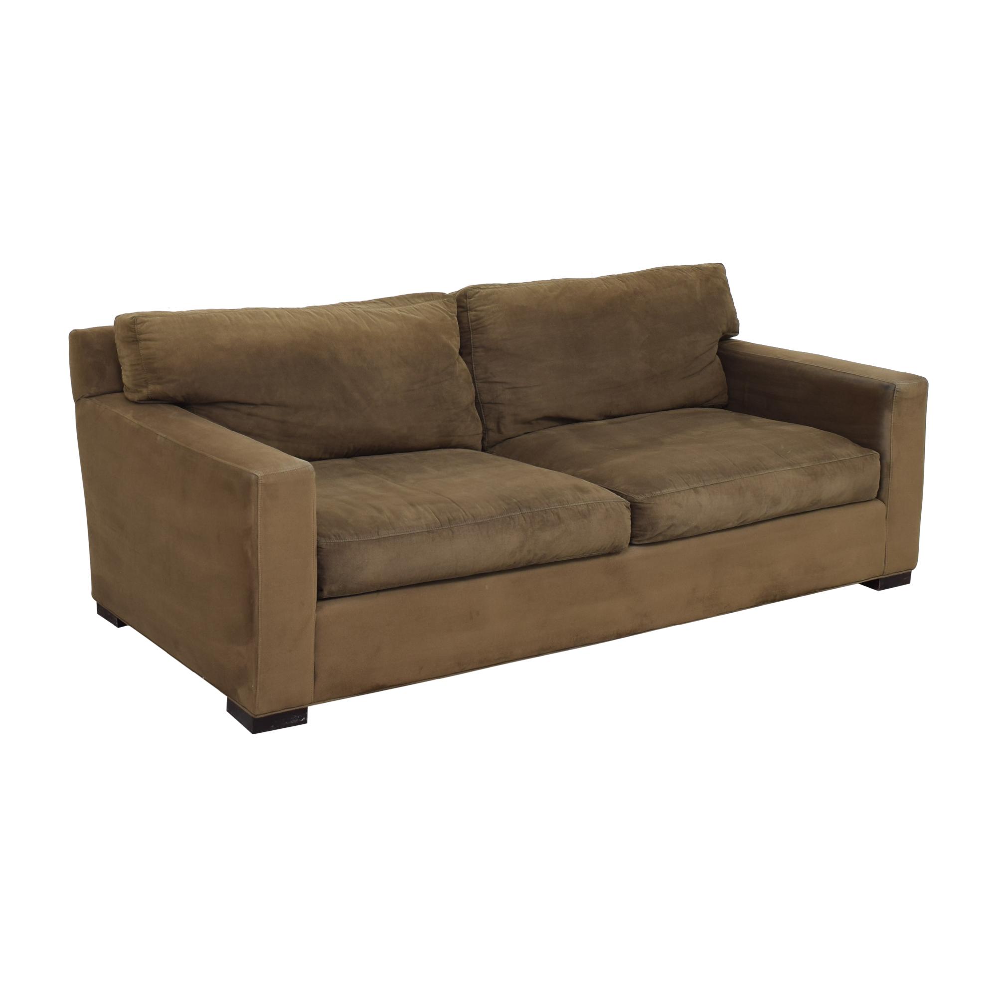 Crate & Barrel Crate & Barrel Axis II Two Cushion Sofa discount