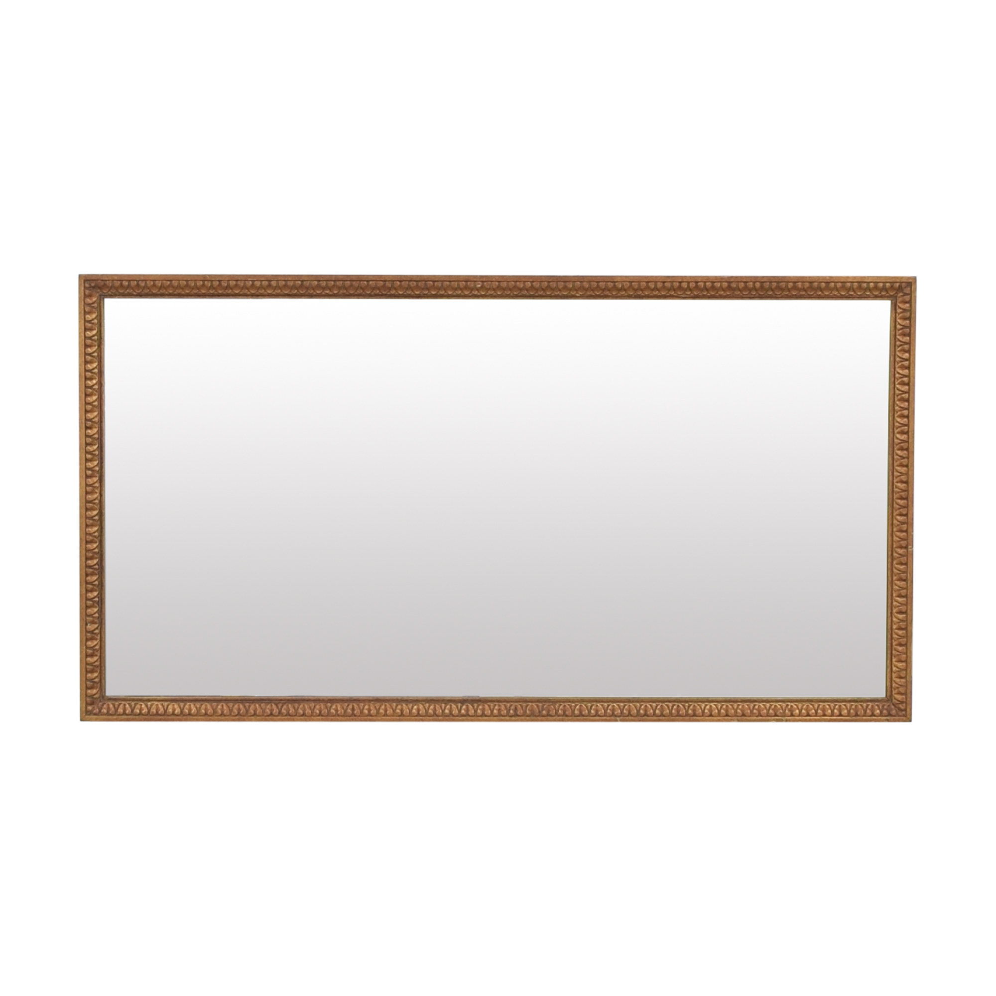 Carved Frame Rectangular Mirror Mirrors