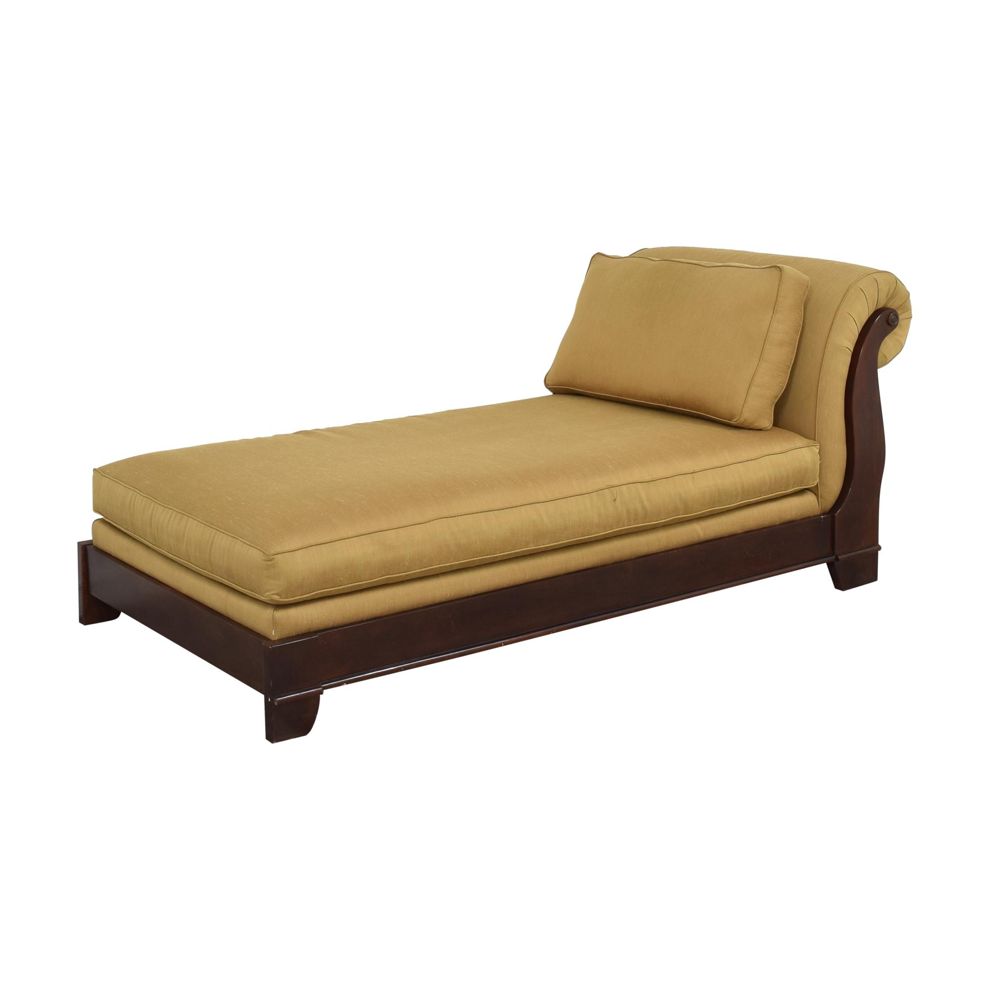 buy Bassett Upholstered Chaise Lounge Bassett Furniture Chaises
