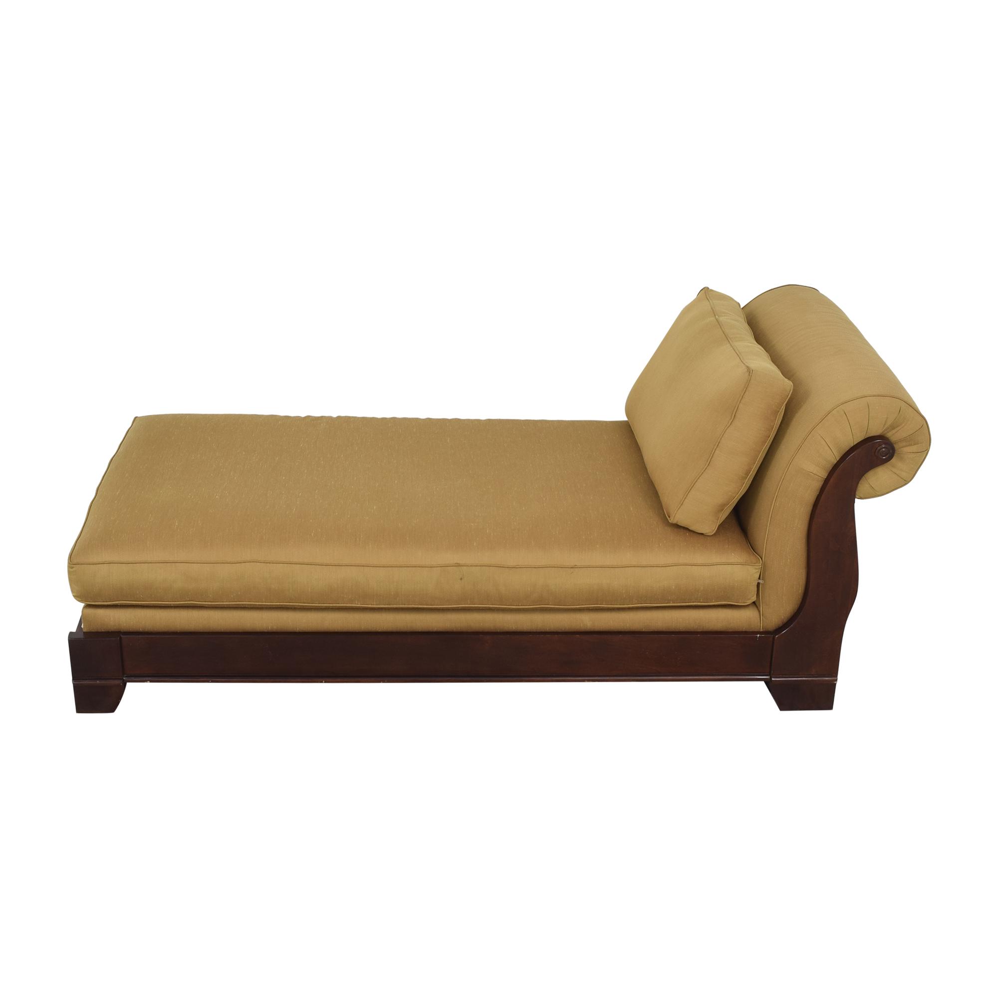 buy Bassett Upholstered Chaise Lounge Bassett Furniture
