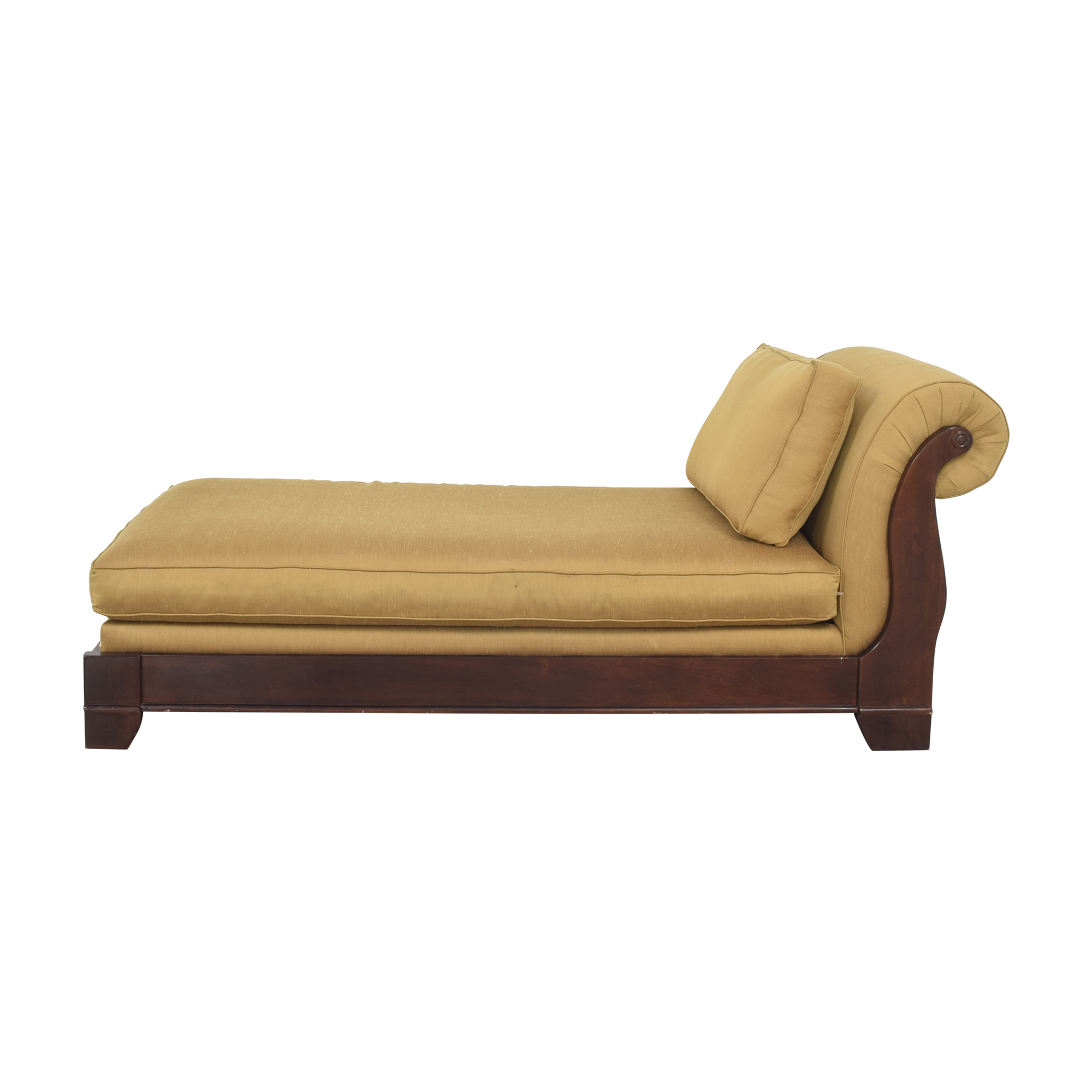 Bassett Upholstered Chaise Lounge sale