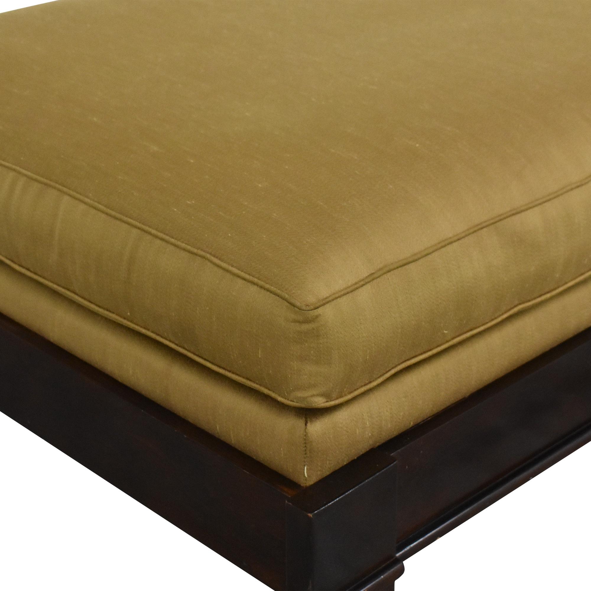 Bassett Furniture Bassett Upholstered Chaise Lounge second hand