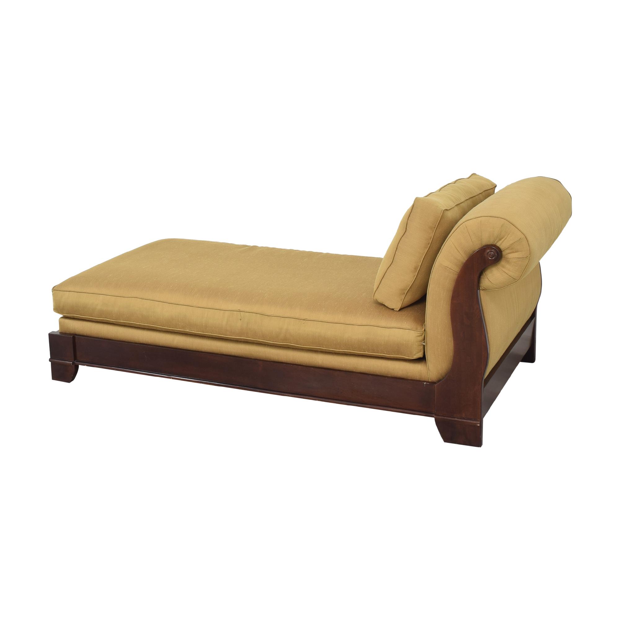 Bassett Upholstered Chaise Lounge Bassett Furniture
