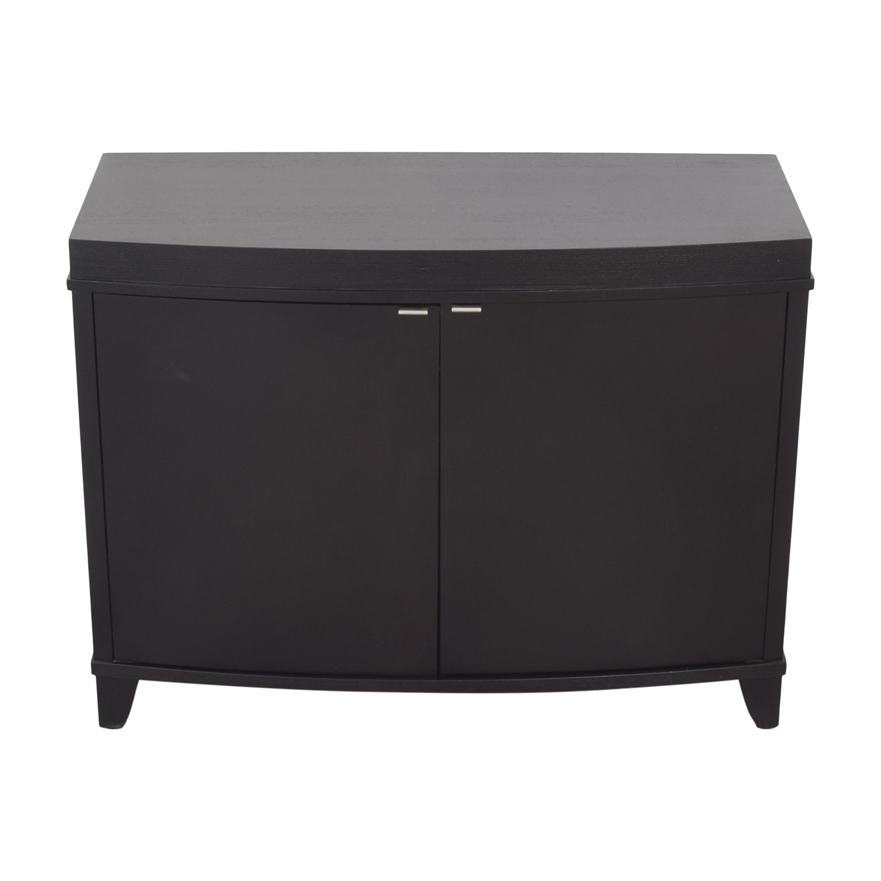 Crate & Barrel Crate & Barrel Bar Cabinet with Wine and Glass Storage Storage