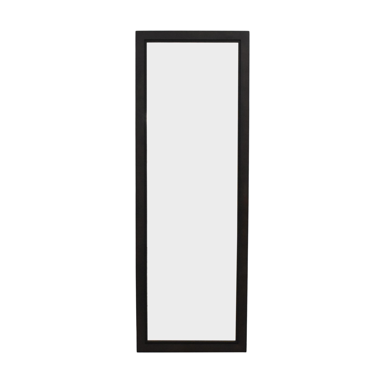 shop Crate & Barrel Floor Mirror Crate & Barrel