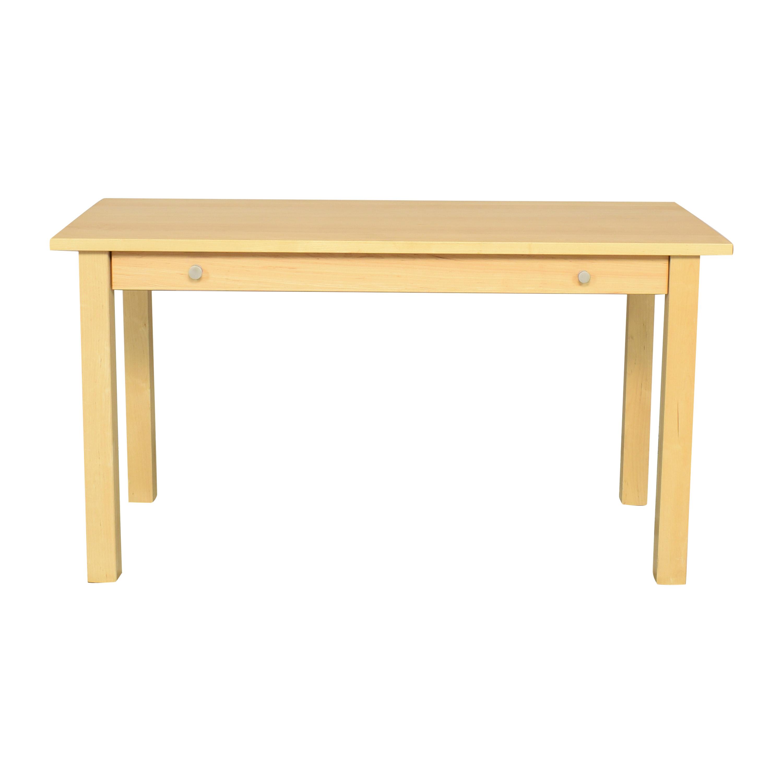 Crate & Barrel Crate & Barrel Single Drawer Desk ma