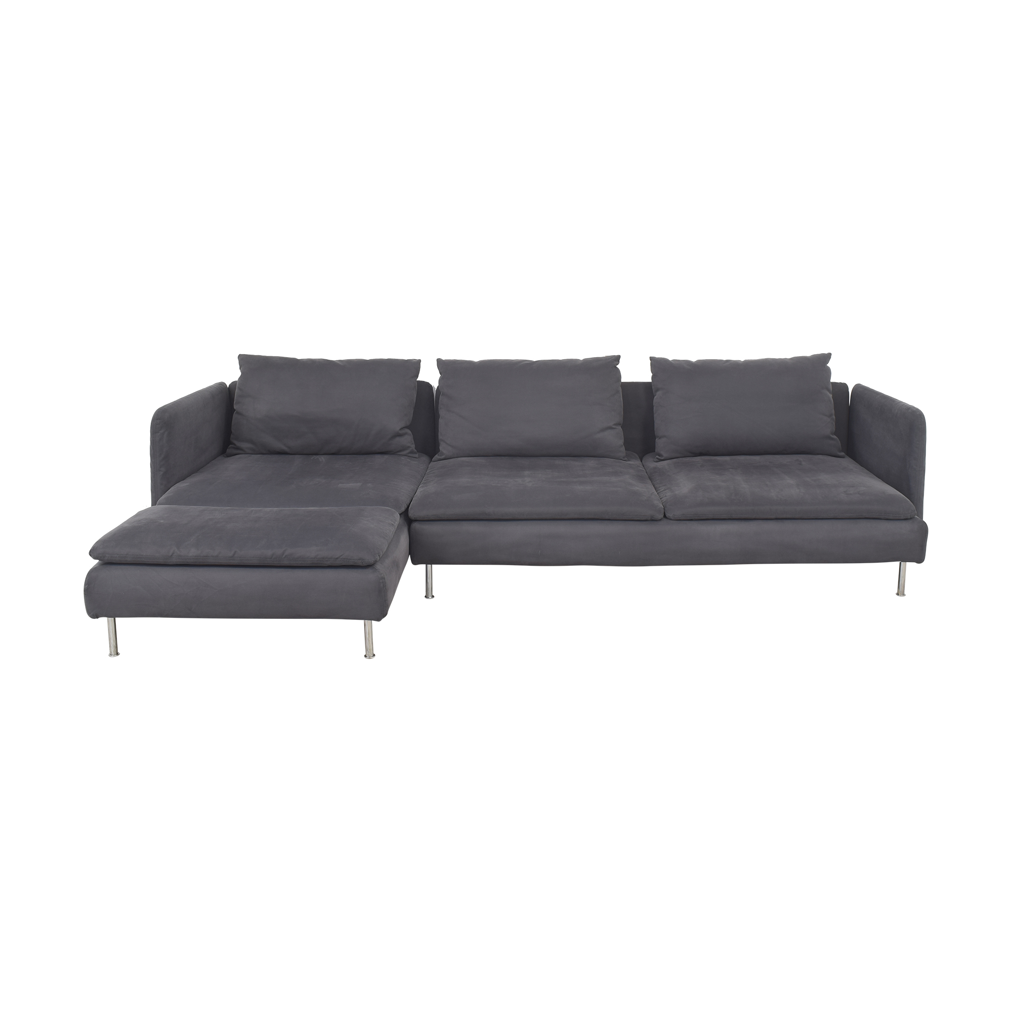IKEA IKEA Söderhamn Four Seat Sectional with Chaise nyc