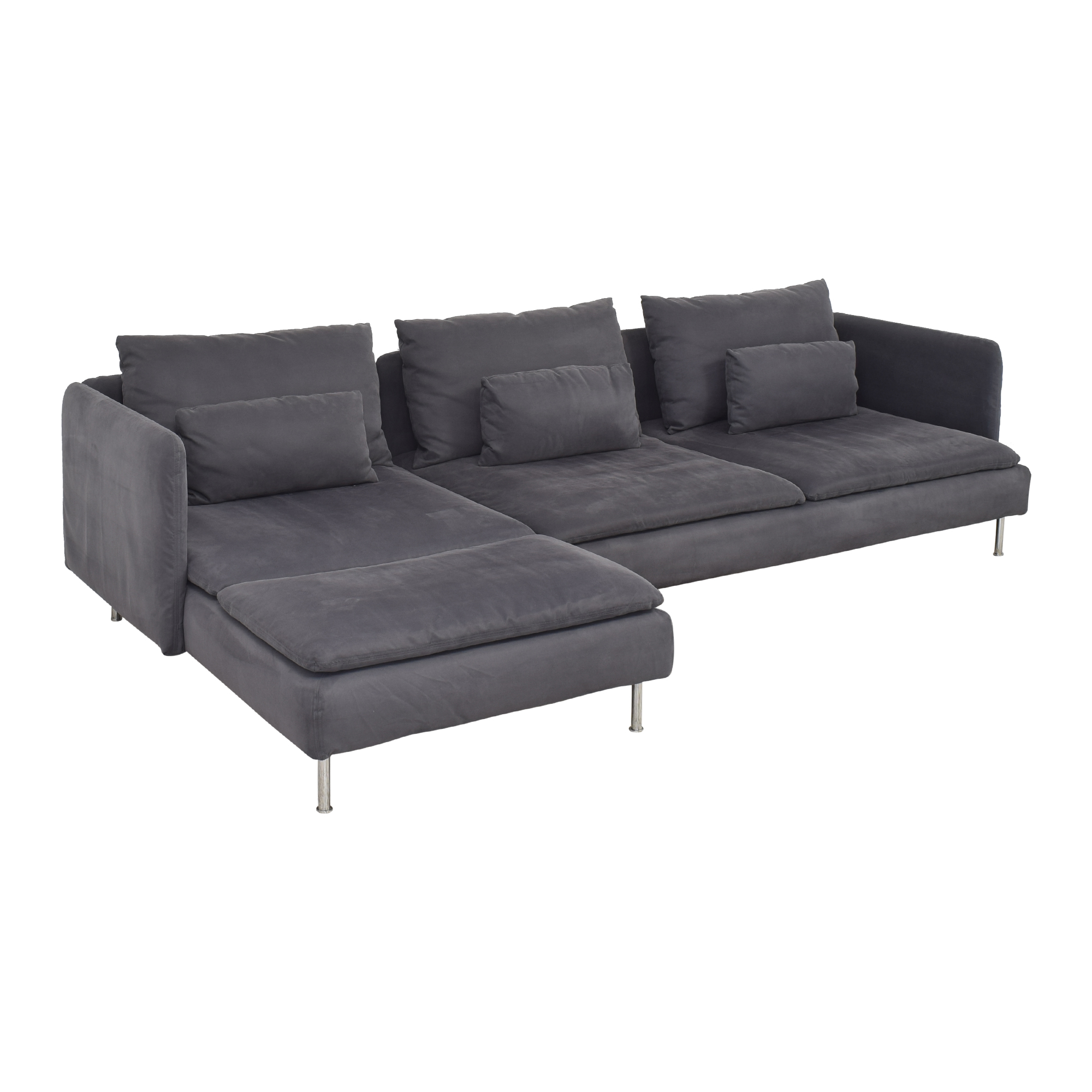 IKEA IKEA Söderhamn Four Seat Sectional with Chaise second hand