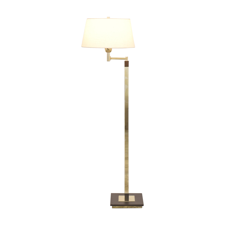 Underwriters Laboratories Underwriter Laboratories Swing Arm Floor Lamp Lamps