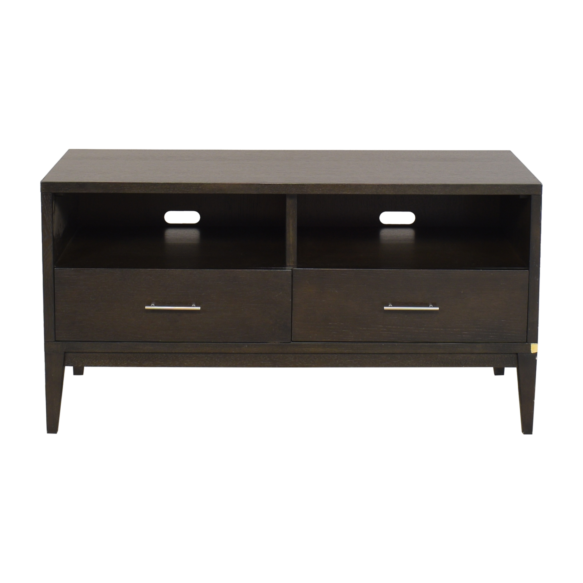 shop Pottery Barn Two Drawer Media Console Pottery Barn