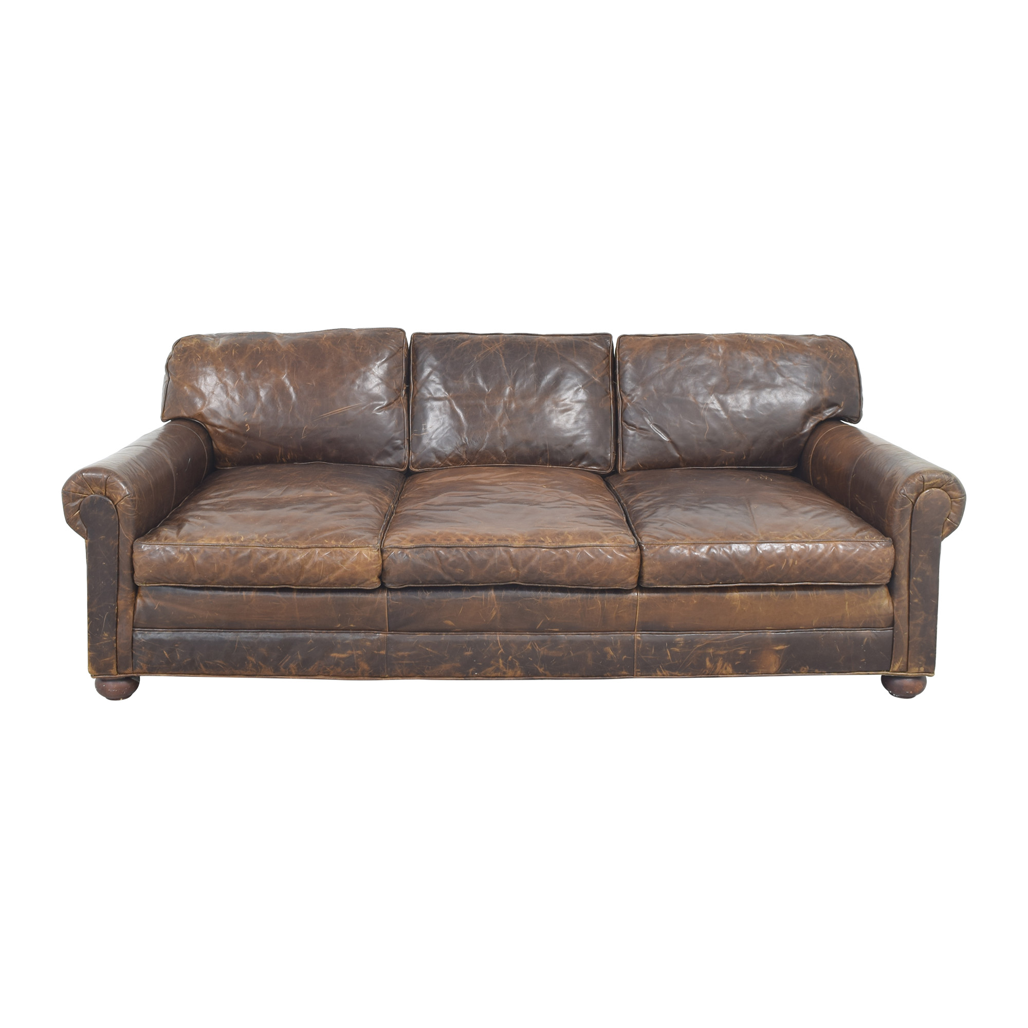 Restoration Hardware Restoration Hardware Original Lancaster Sofa on sale