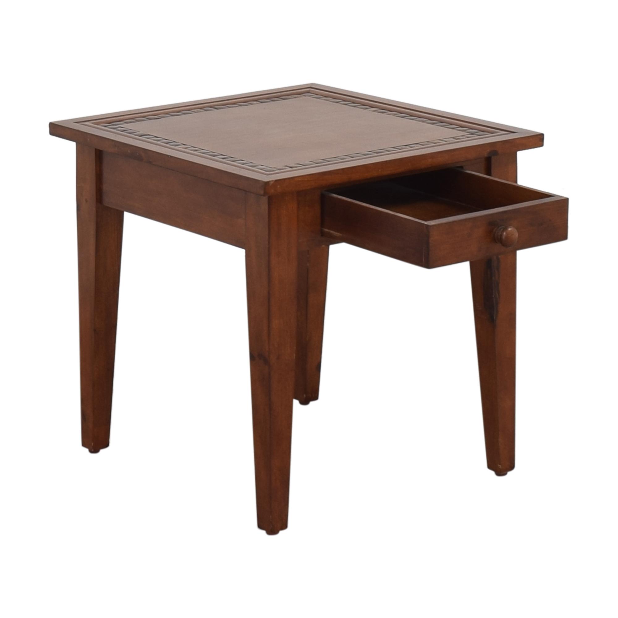 Ethan Allen Ethan Allen Single Drawer End Table on sale