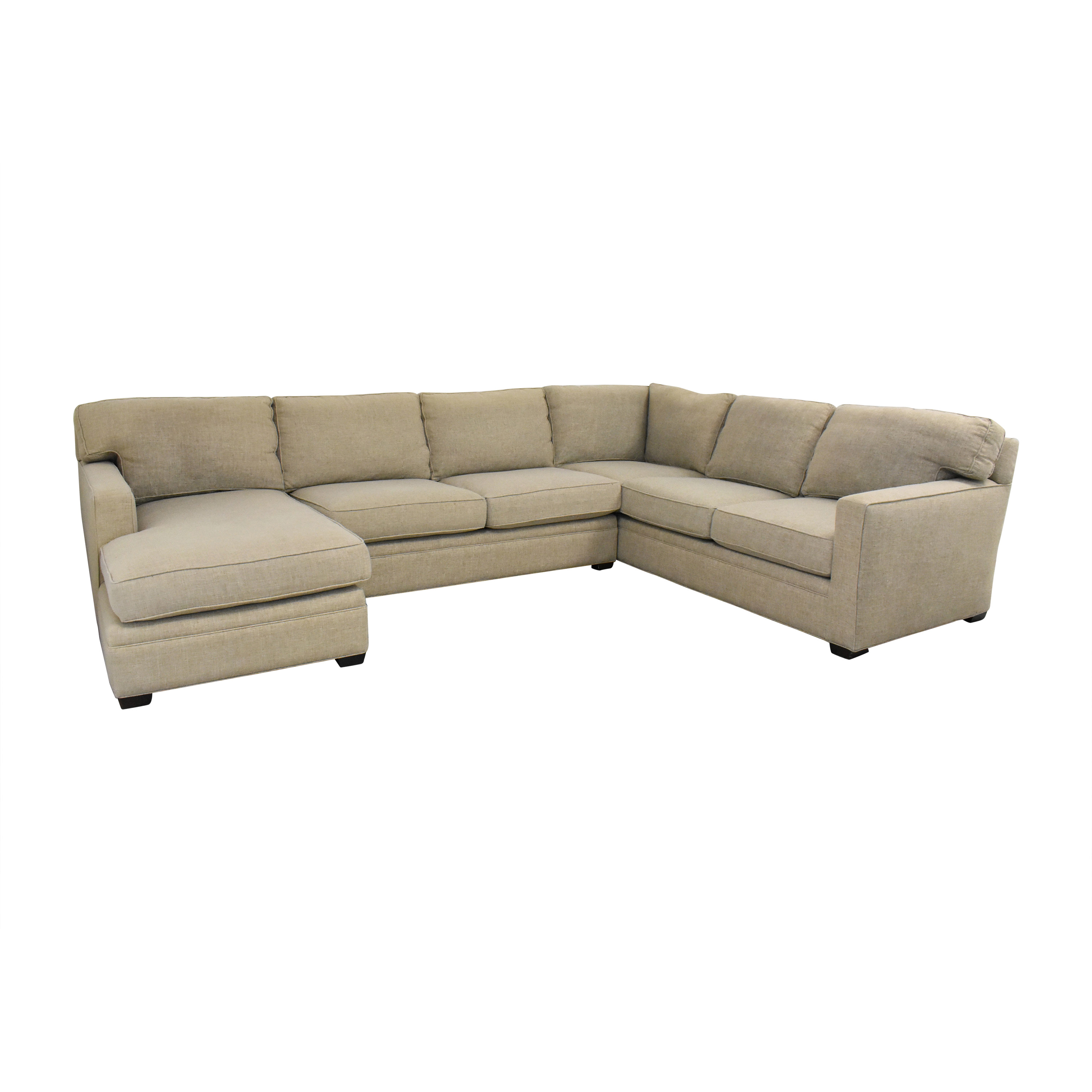 Lillian August Lillian August L Shaped Sectional Sofa with Chaise coupon