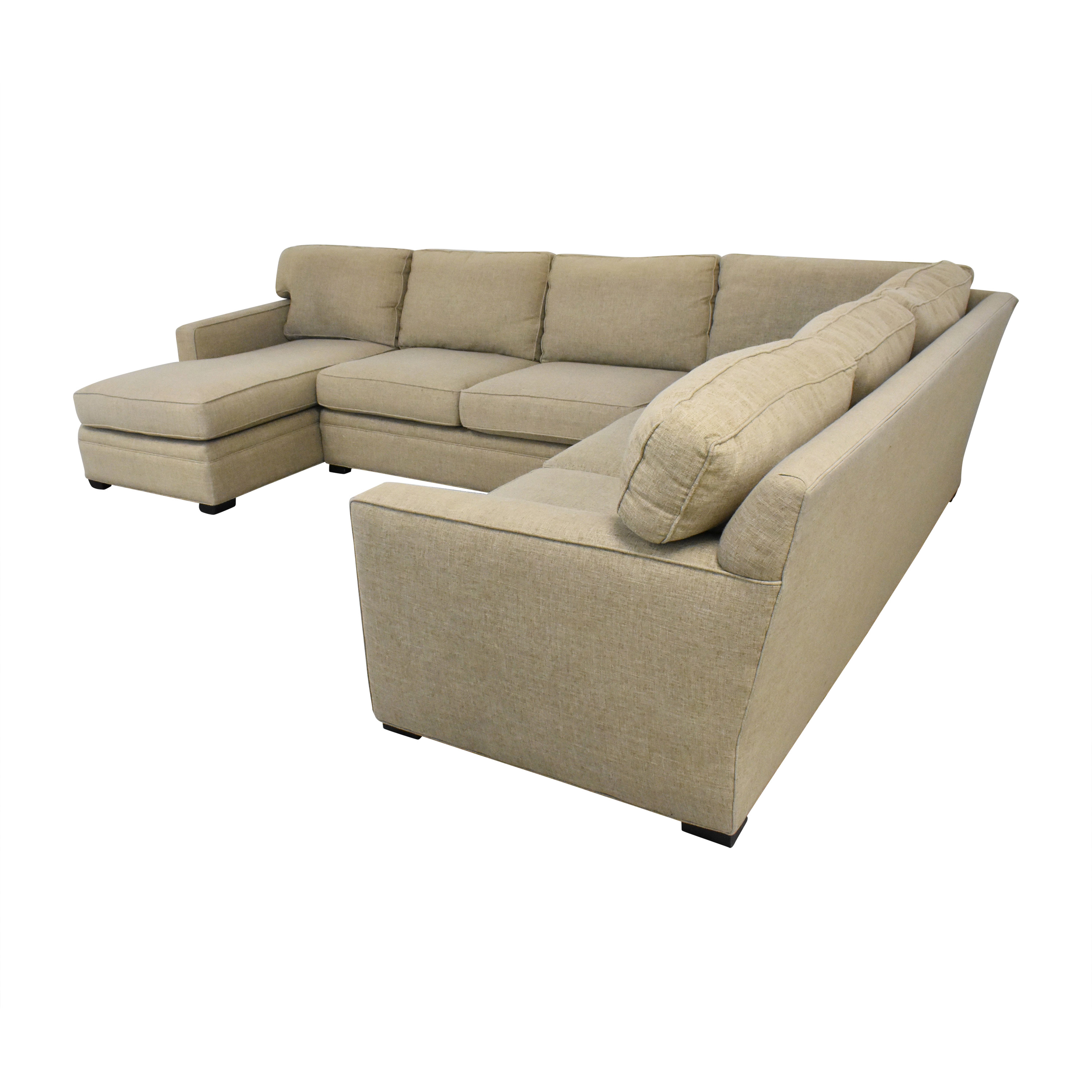 shop Lillian August Lillian August L Shaped Sectional Sofa with Chaise online