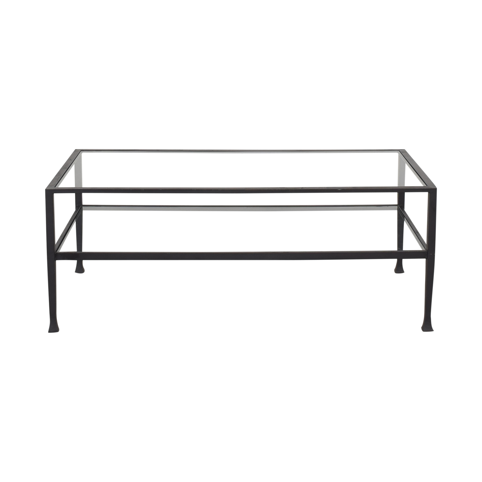 Crate & Barrel Crate & Barrel Tanner Rectangular Coffee Table for sale