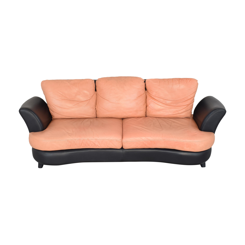 Two Tone Curved Sofa